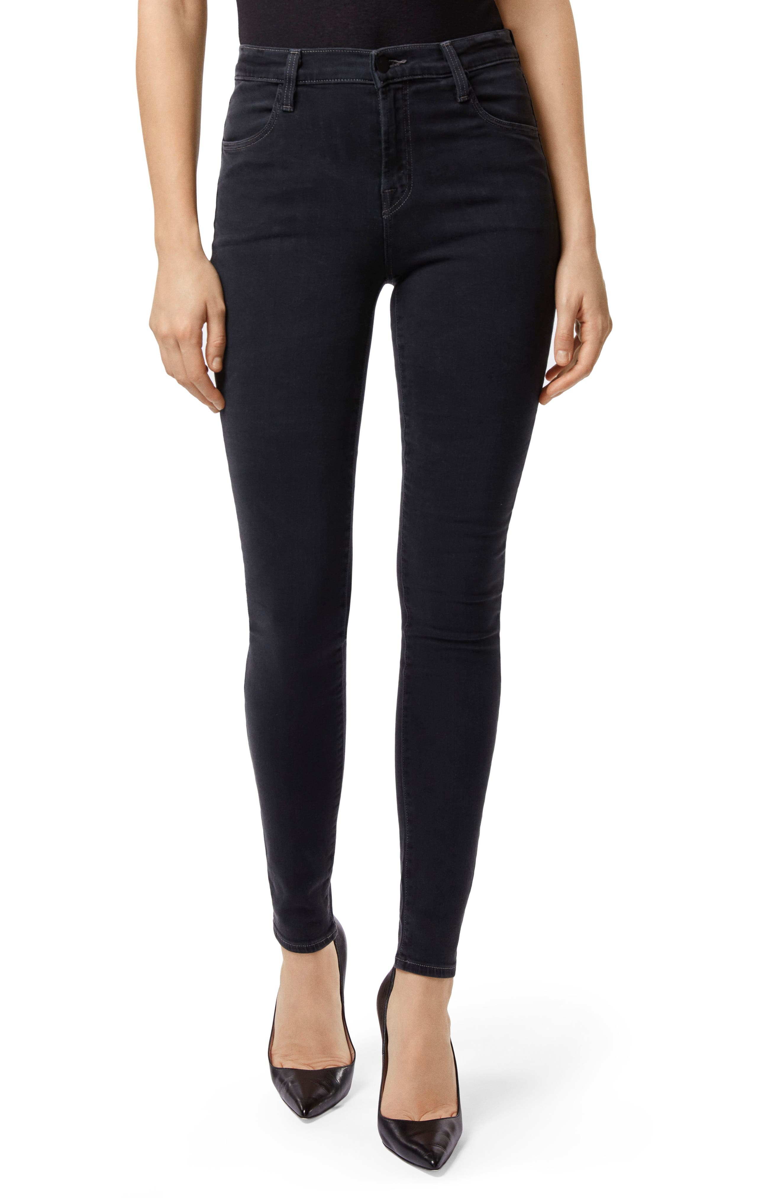 Maria High Waist Skinny Jeans,                         Main,                         color, 002