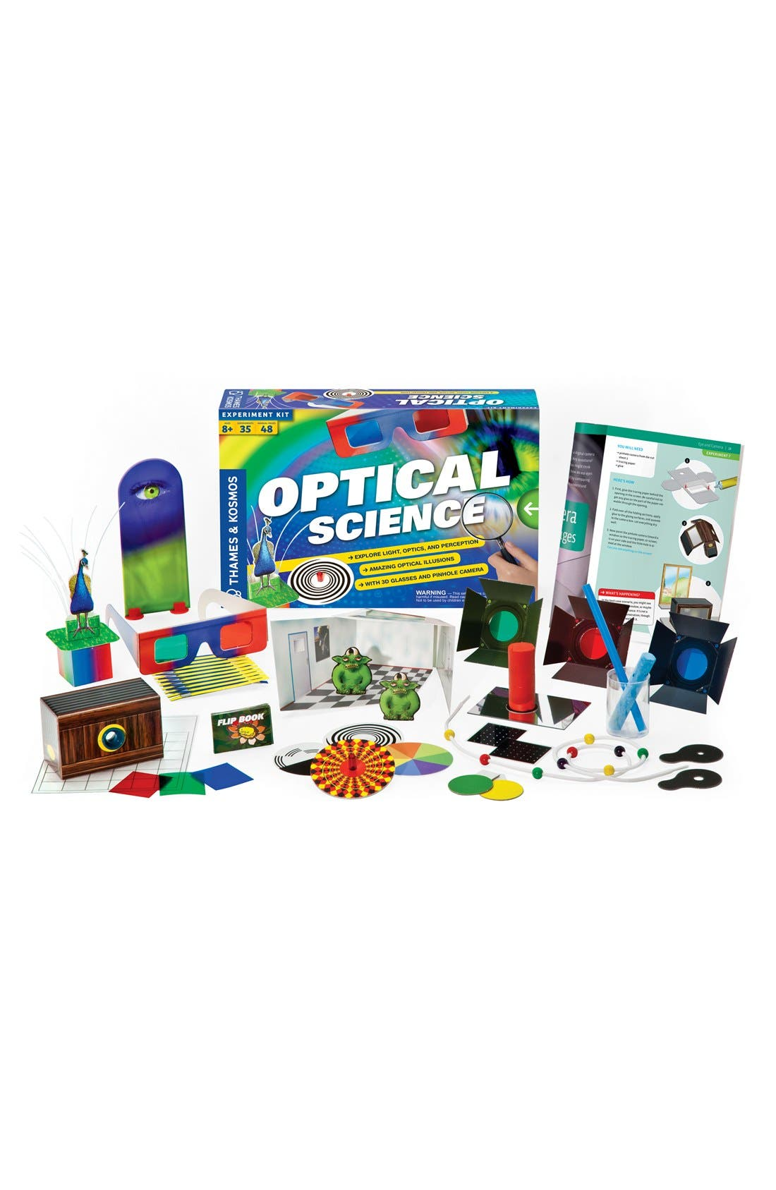 'Optical Science 2.0' Experiment Kit,                         Main,                         color, 000