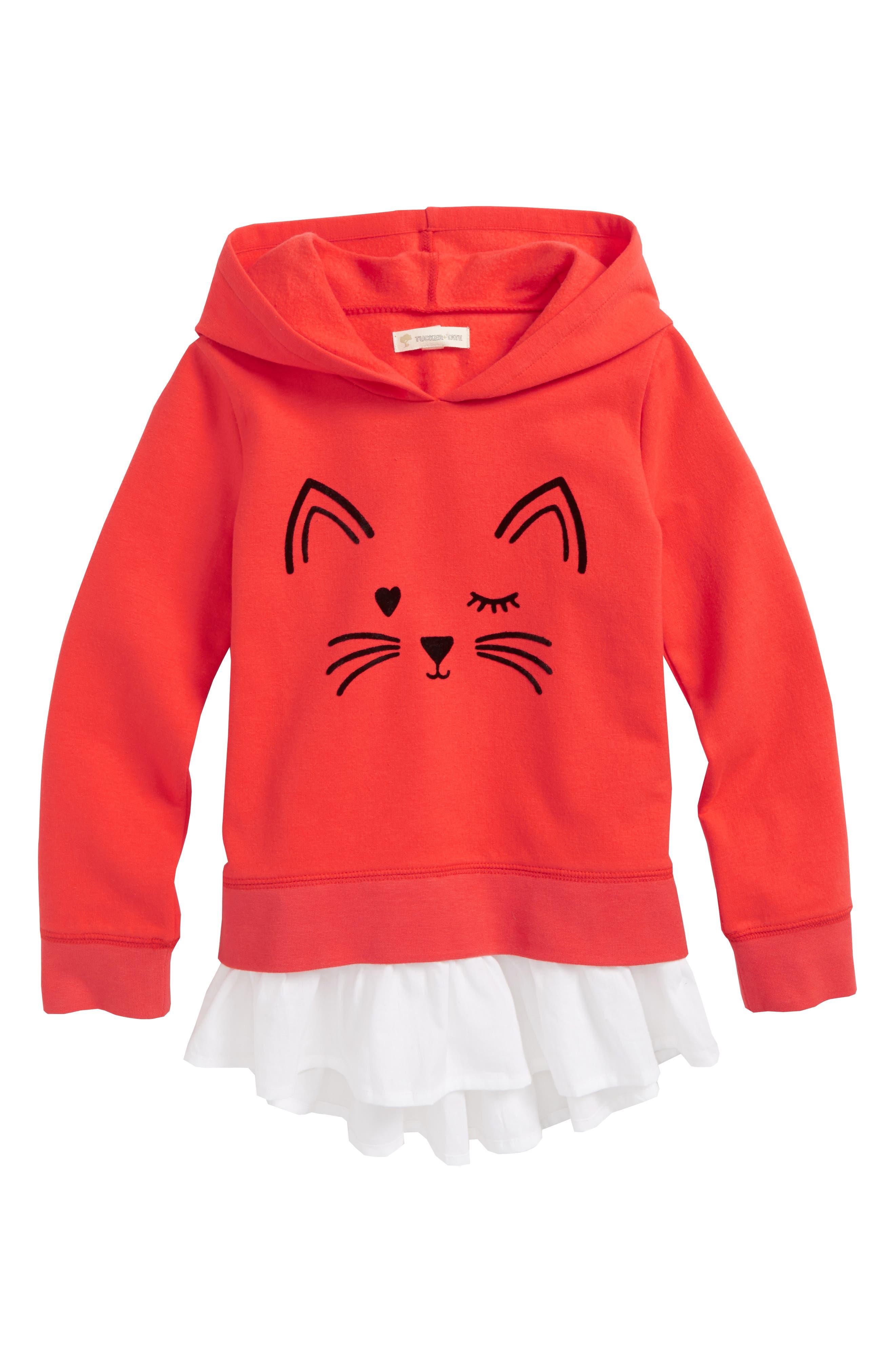 Fuzzy Appliqué Tunic,                         Main,                         color,