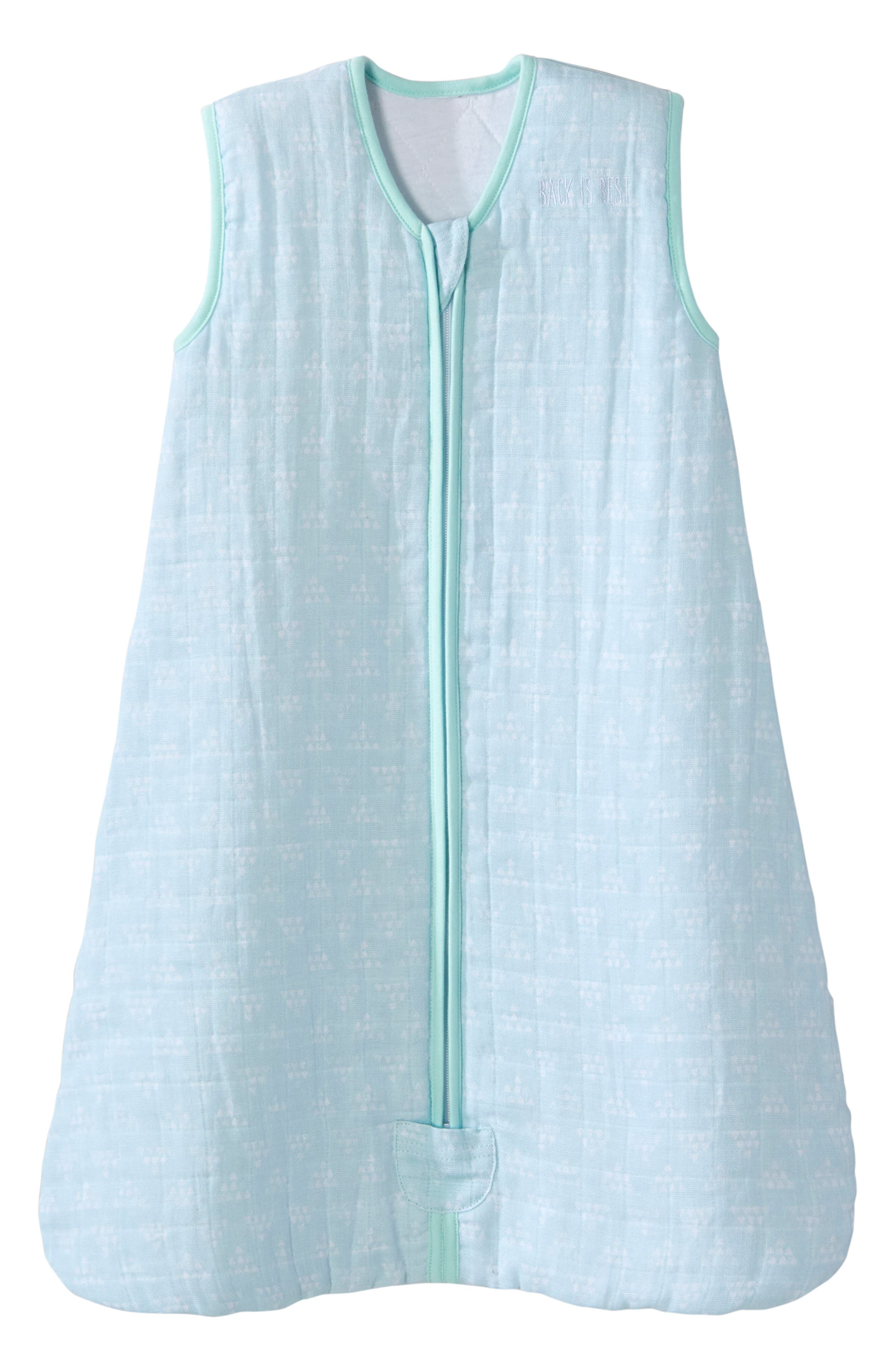 Halo Platinum Series Sleepsack(TM) Quilted Muslin Wearable Blanket Size 612M  Green