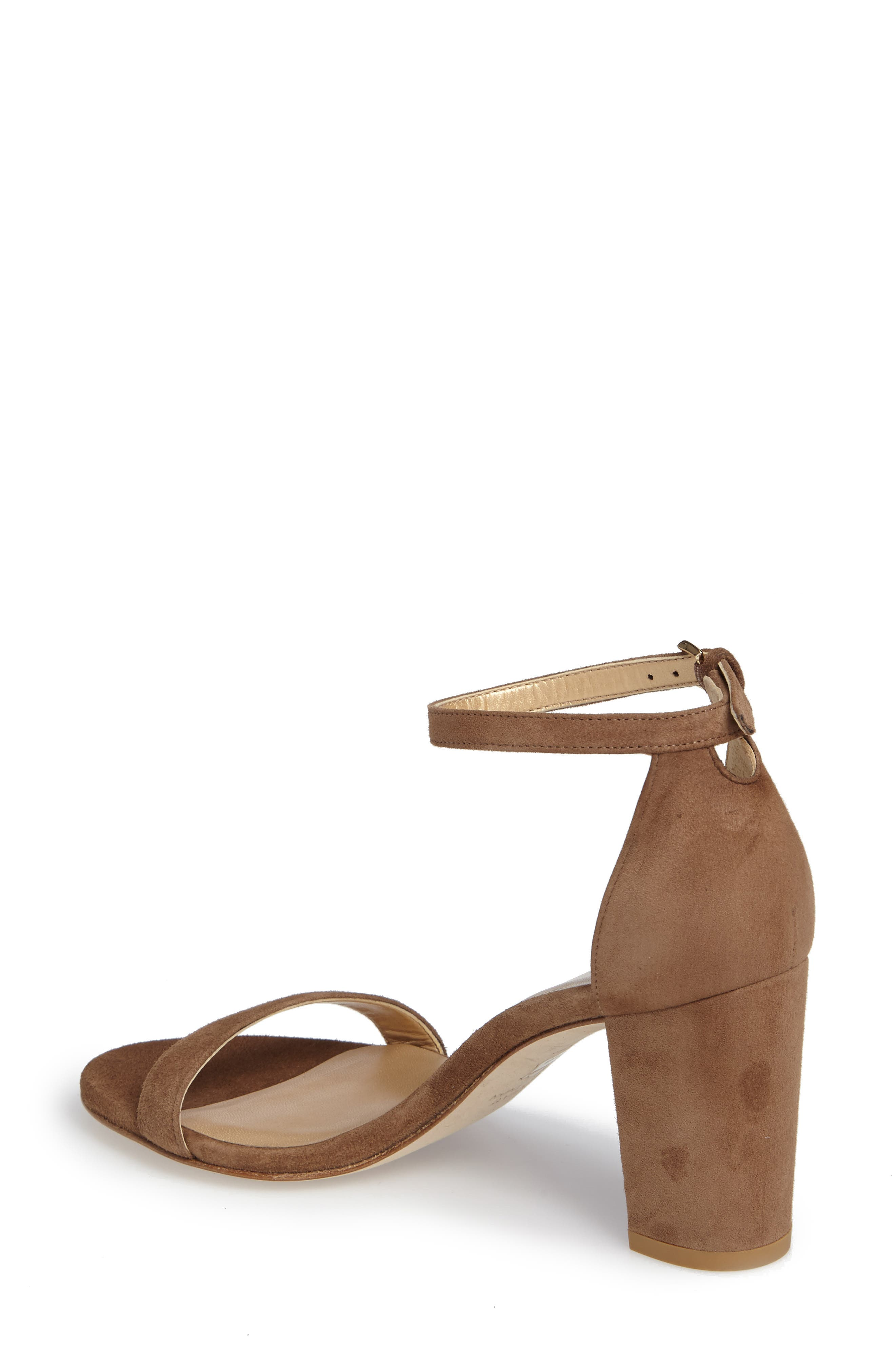 NearlyNude Ankle Strap Sandal,                             Alternate thumbnail 43, color,