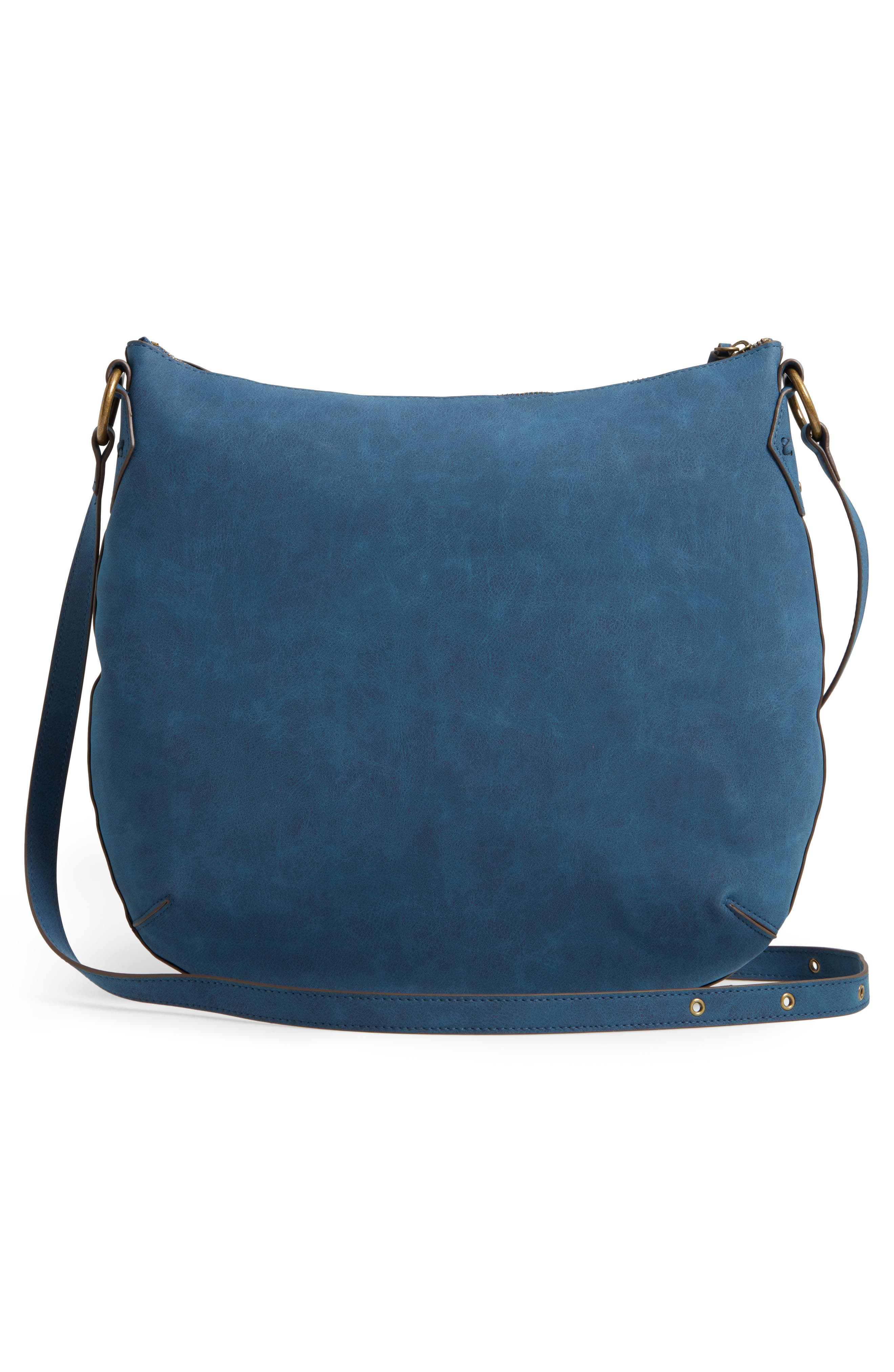 Palomina Faux Leather Crossbody Hobo,                             Alternate thumbnail 9, color,