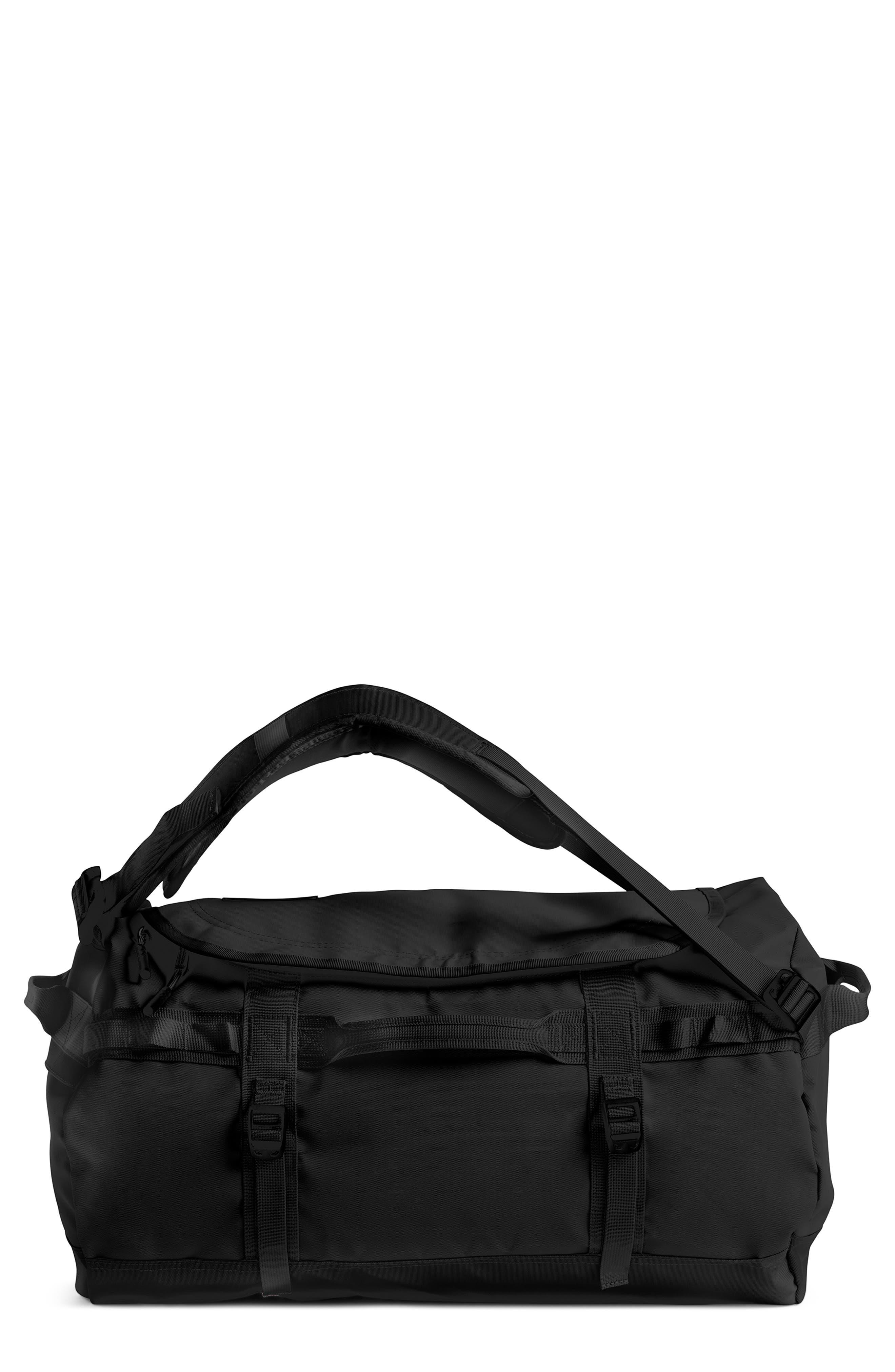 Base Camp Water Resistant Duffel Bag,                             Main thumbnail 1, color,                             TNF BLACK