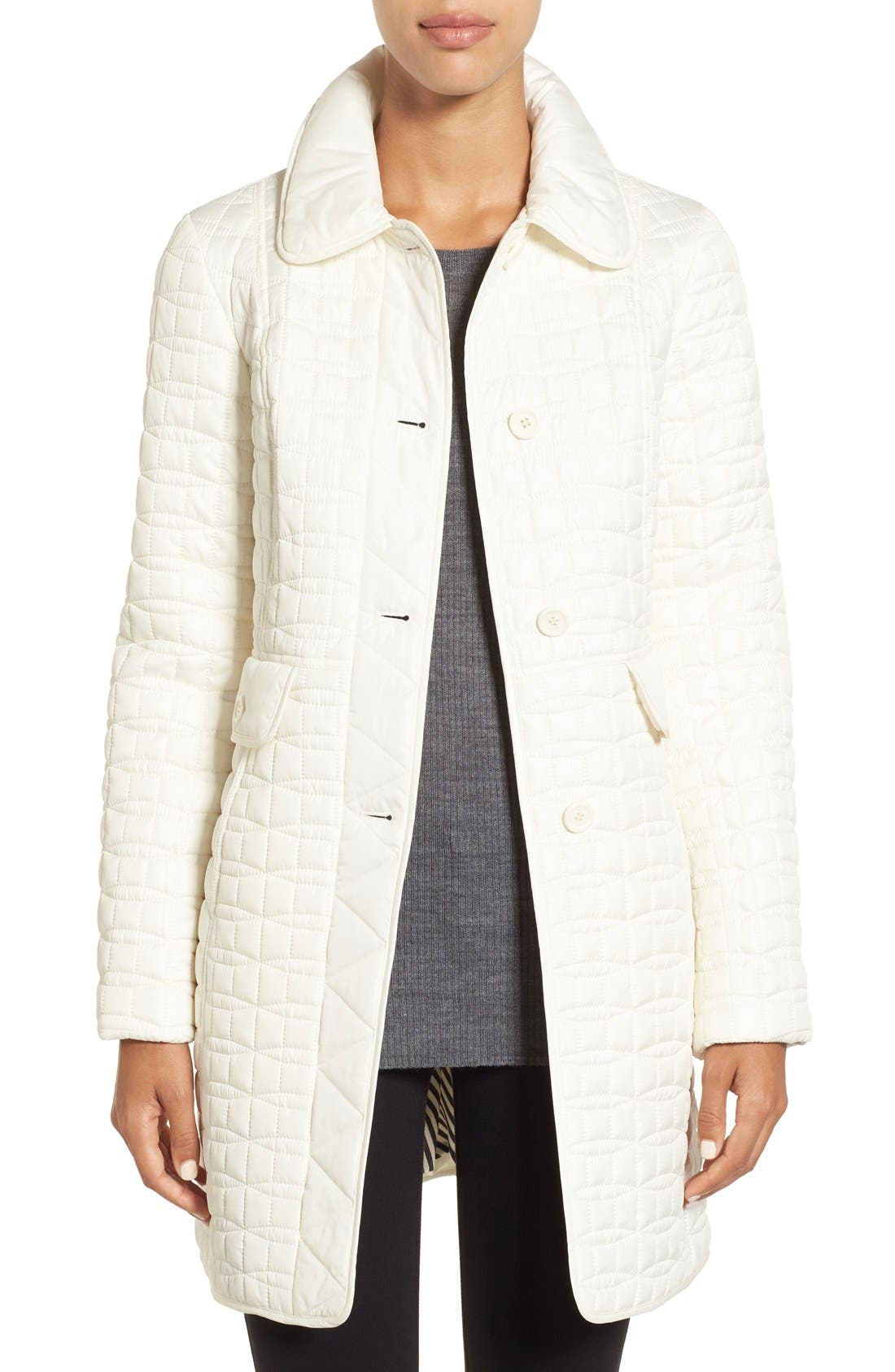 water resistant quilted coat,                             Main thumbnail 3, color,
