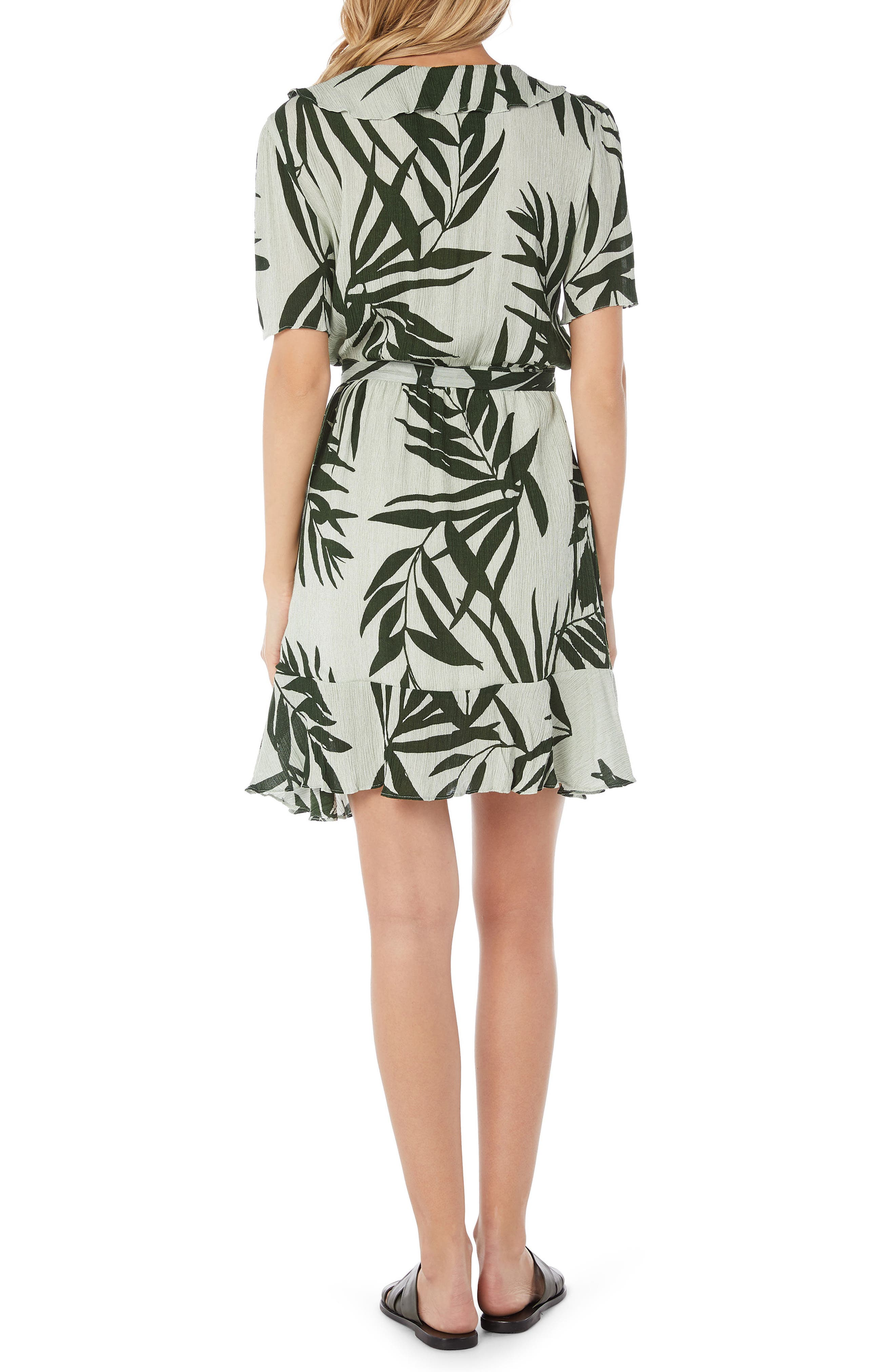 Paradiso Wrap Dress,                             Alternate thumbnail 2, color,                             340