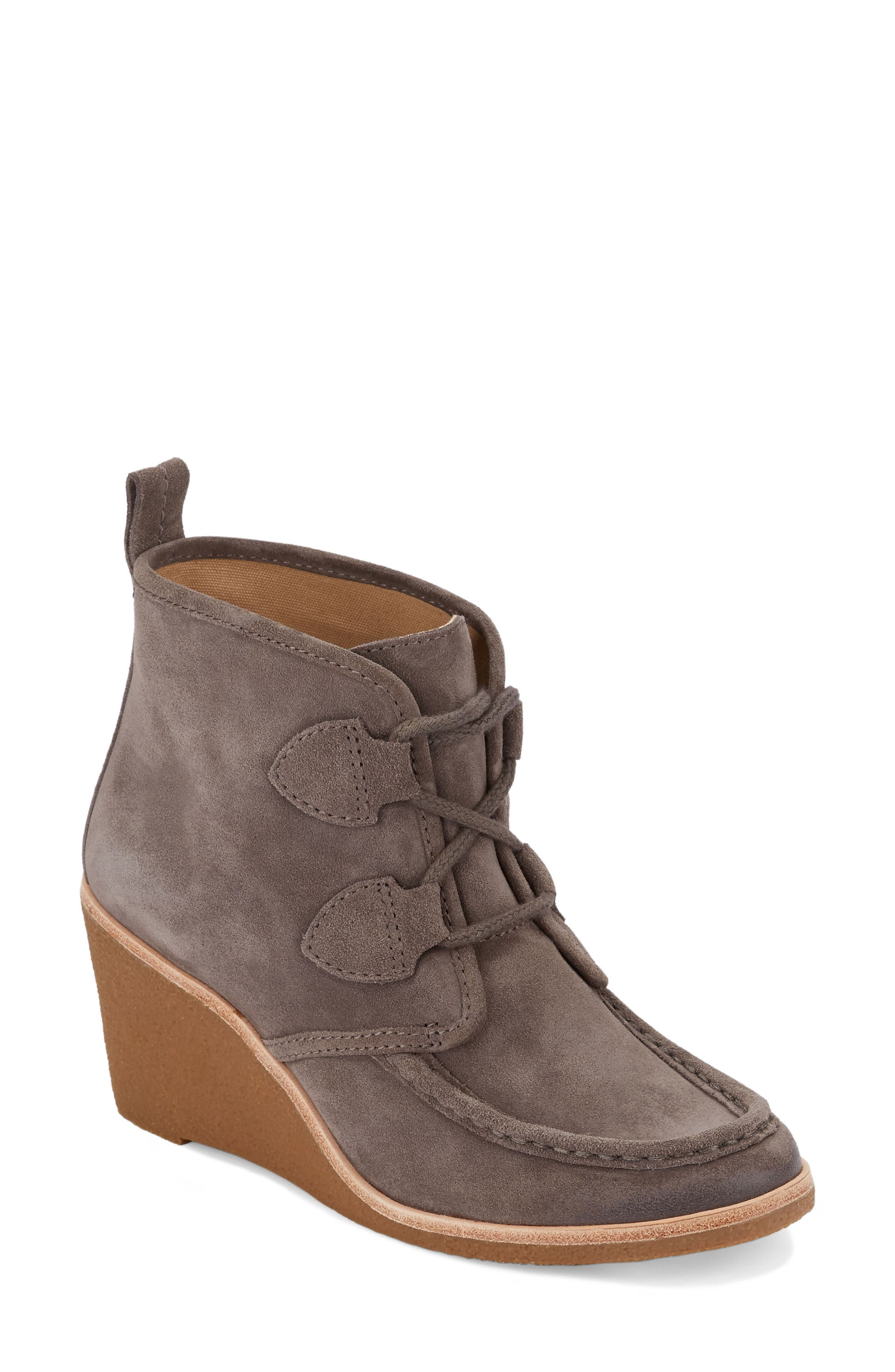 Rosa Wedge Bootie,                             Main thumbnail 2, color,
