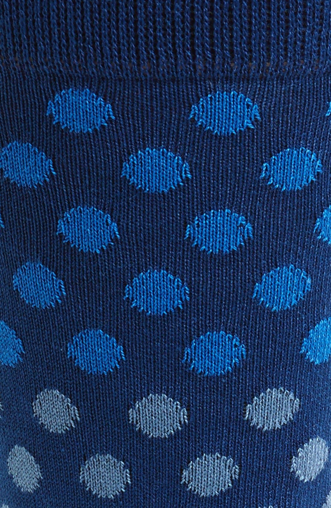 'Dot Dégradé' Socks,                             Alternate thumbnail 5, color,
