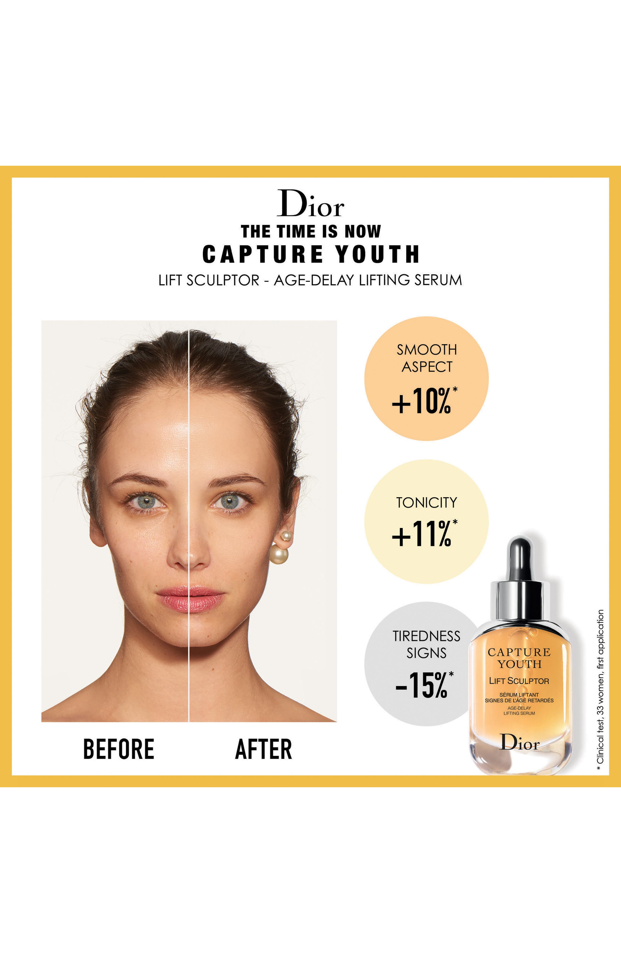 Capture Youth Lift Sculptor Age-Delay Lifting Serum,                             Alternate thumbnail 3, color,                             NO COLOR