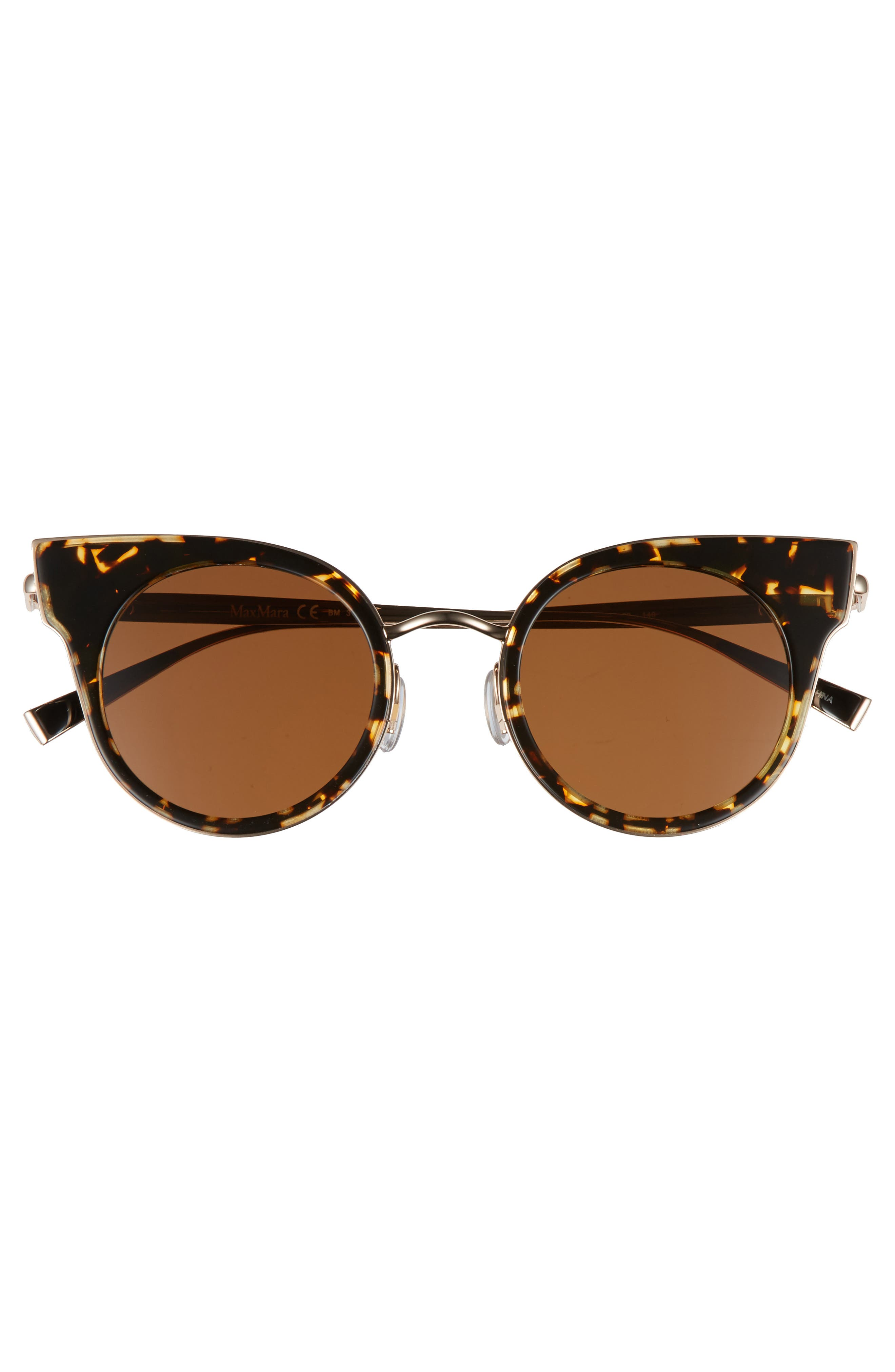 Ilde 46mm Cat Eye Sunglasses,                             Alternate thumbnail 3, color,