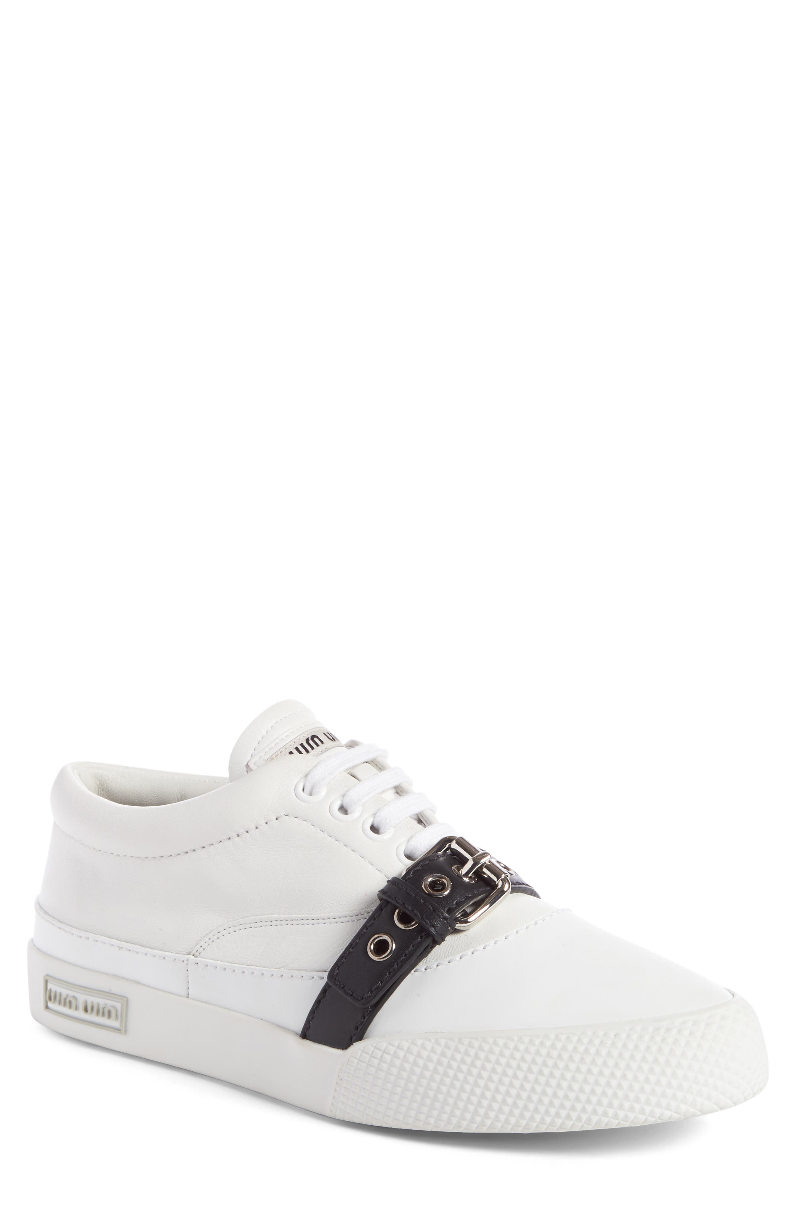 Belted Sneaker,                             Main thumbnail 1, color,                             100