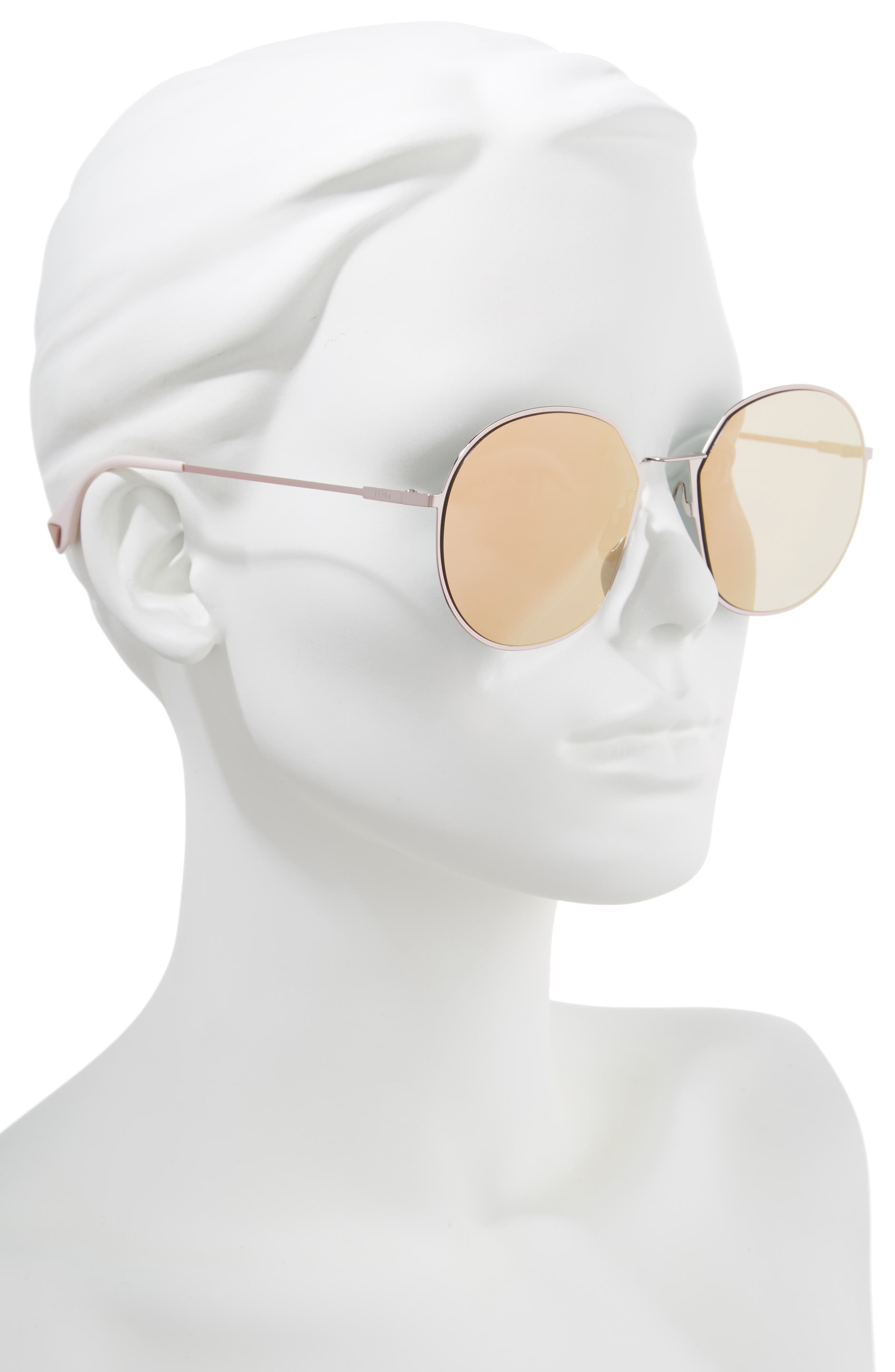 59mm Round Special Fit Sunglasses,                             Alternate thumbnail 7, color,