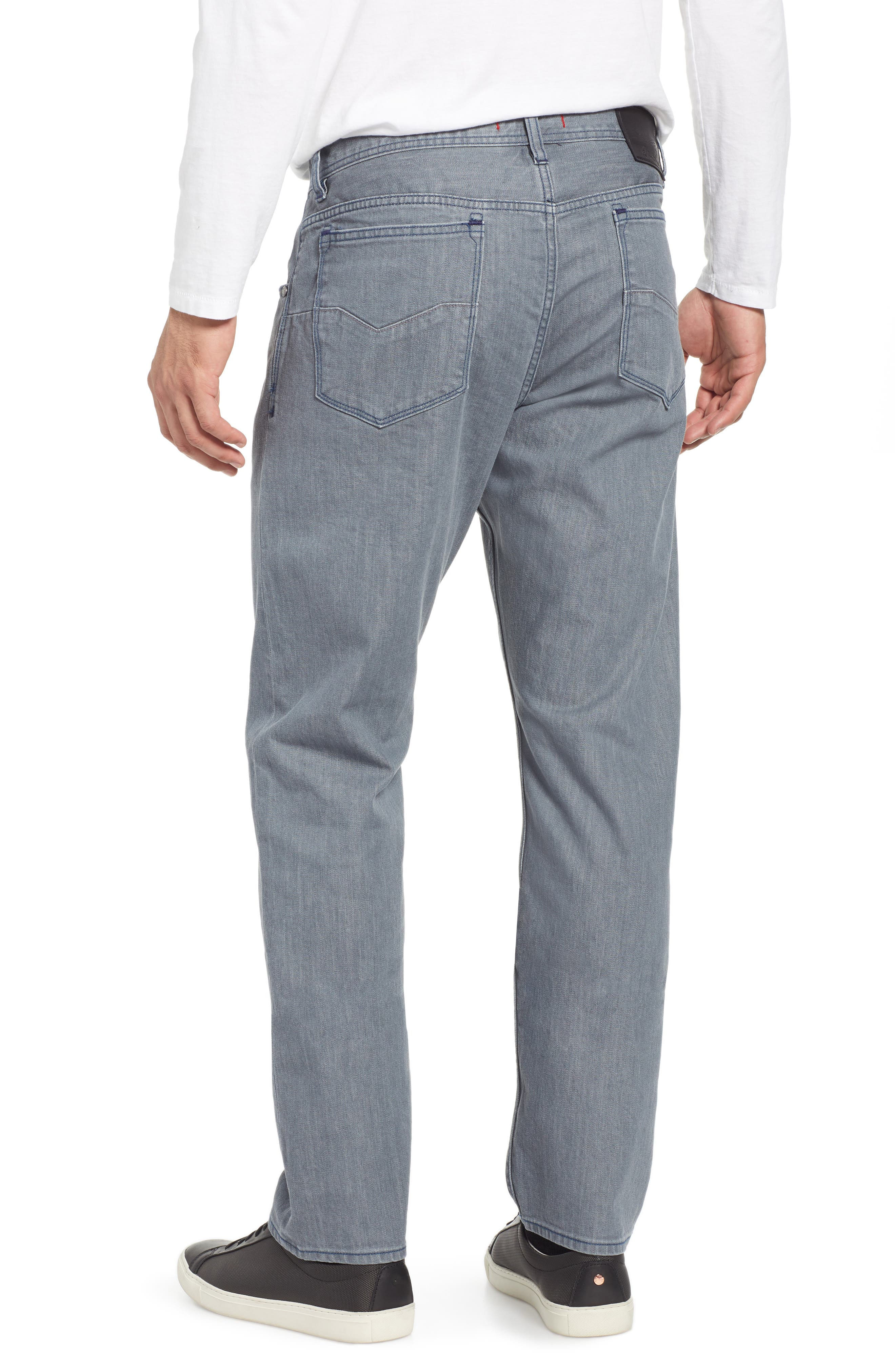 Bray Tailored Straight Leg Jeans,                             Alternate thumbnail 2, color,                             GREY