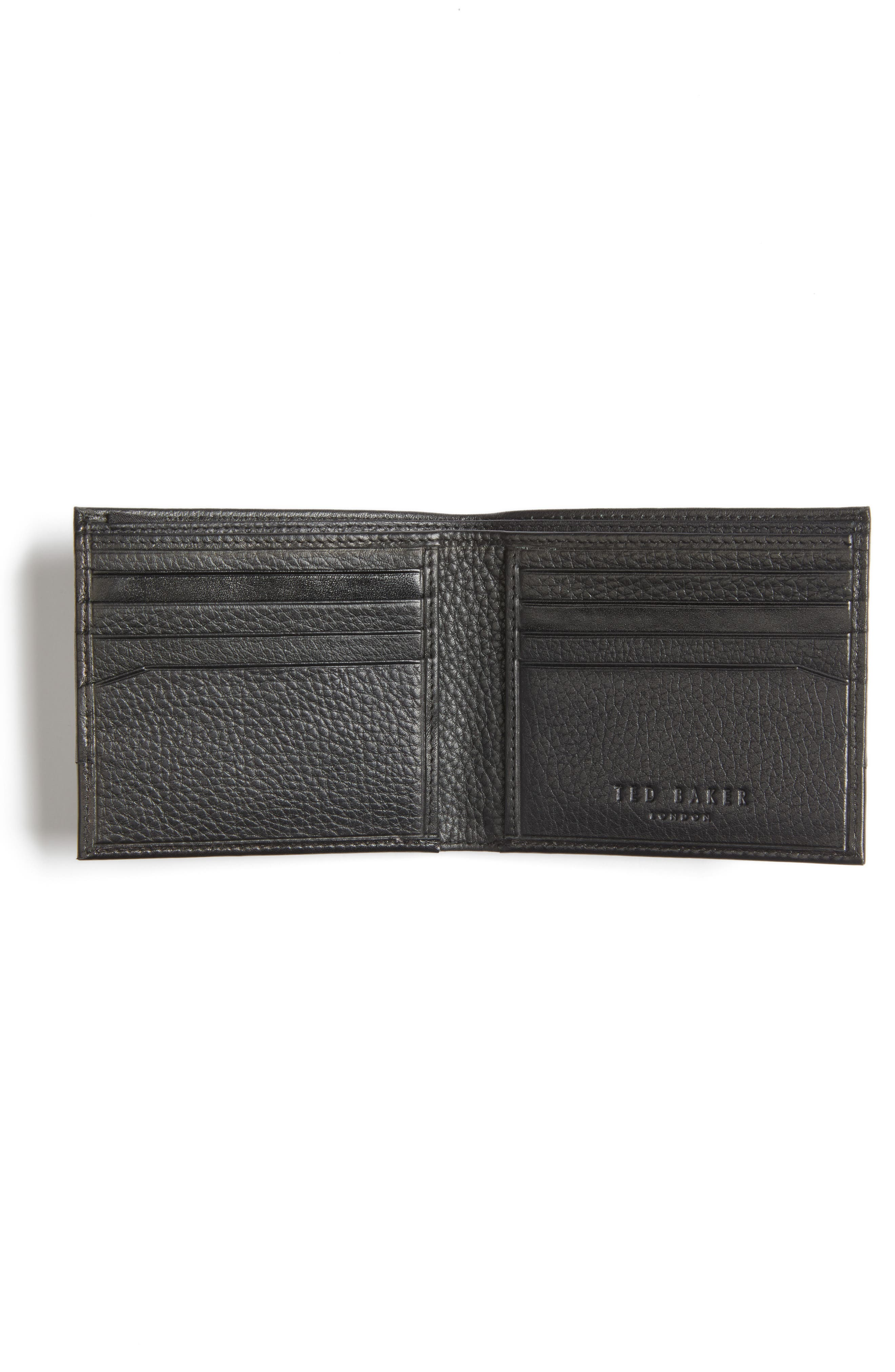 Mixdup Leather Wallet,                             Alternate thumbnail 2, color,                             001
