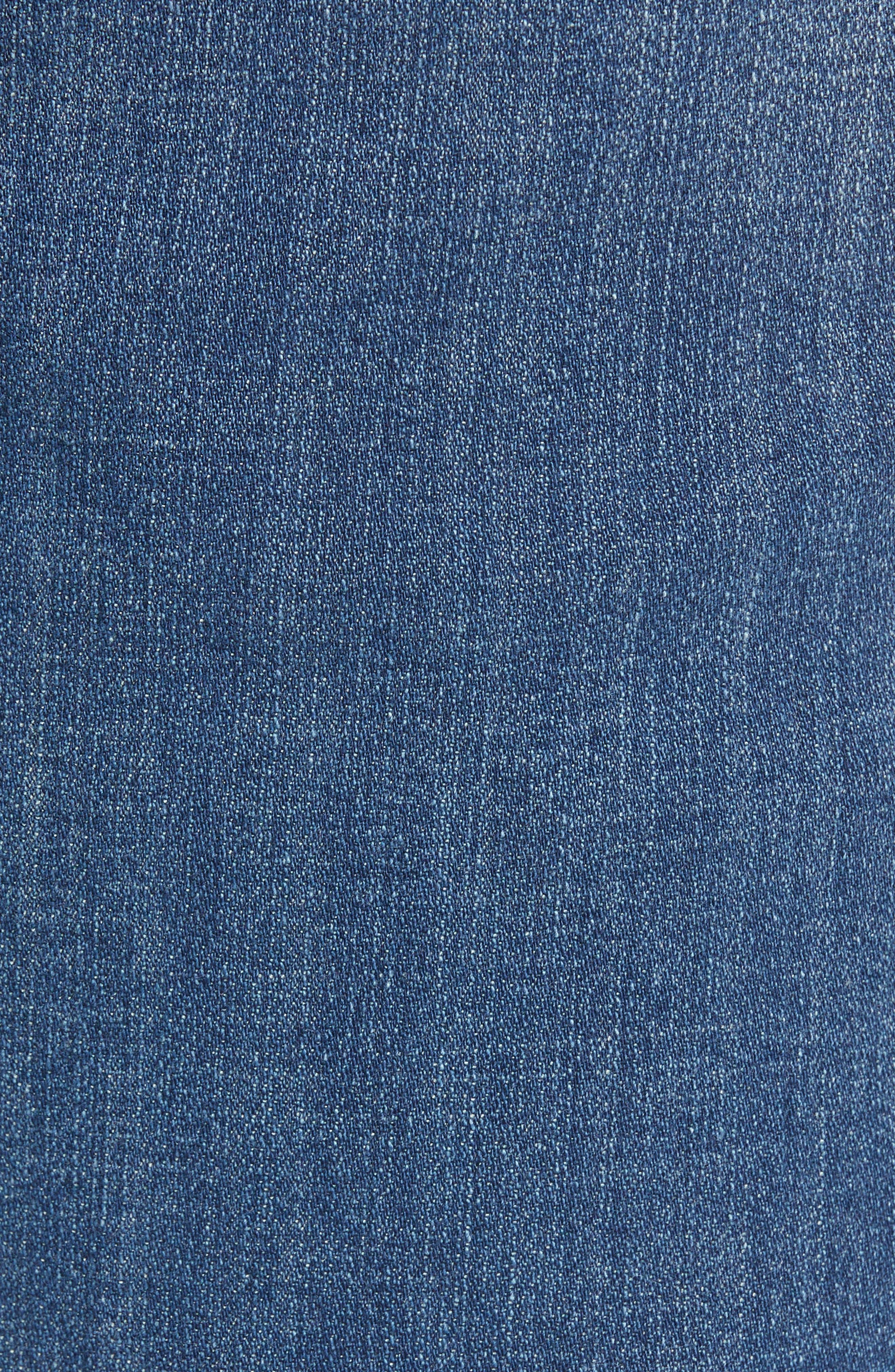 Release Hem Skinny Jeans,                             Alternate thumbnail 5, color,                             LEAR