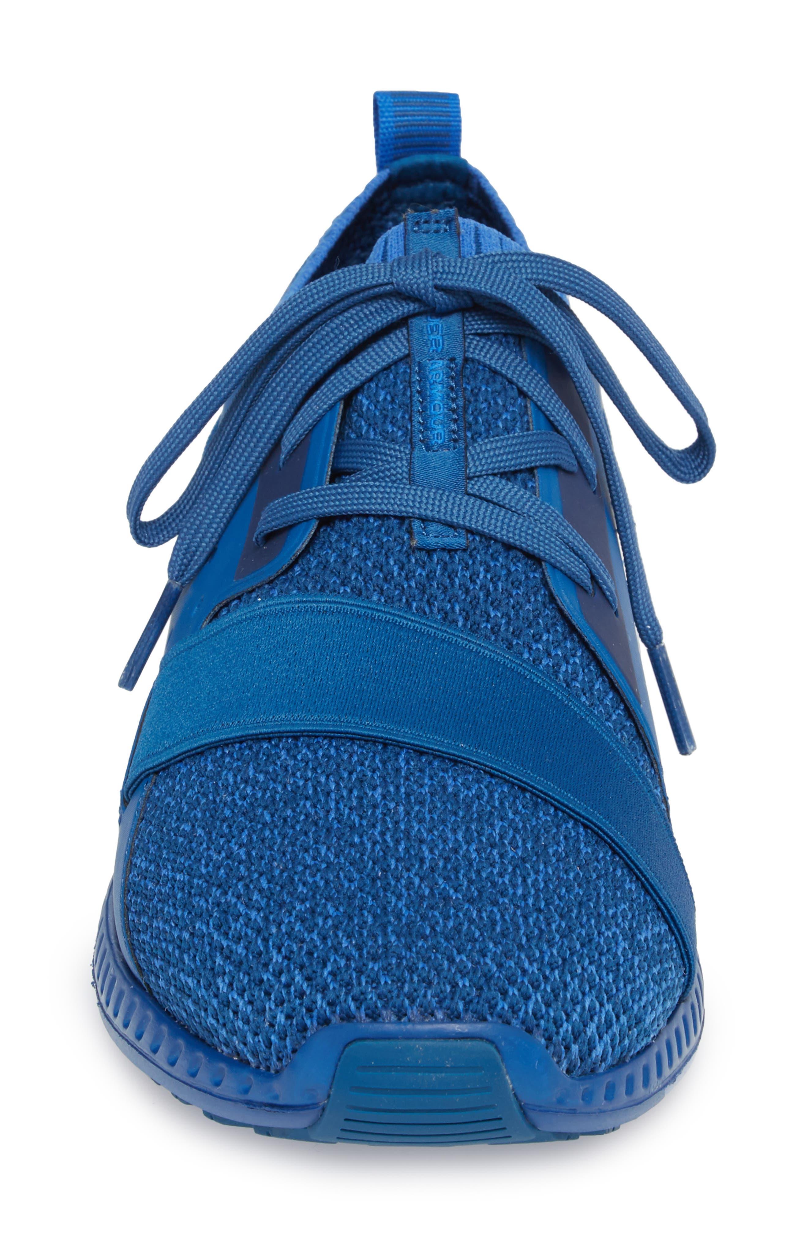 Threadborne Shift Sneaker,                             Alternate thumbnail 4, color,                             BLUE / MEDITERRANEAN