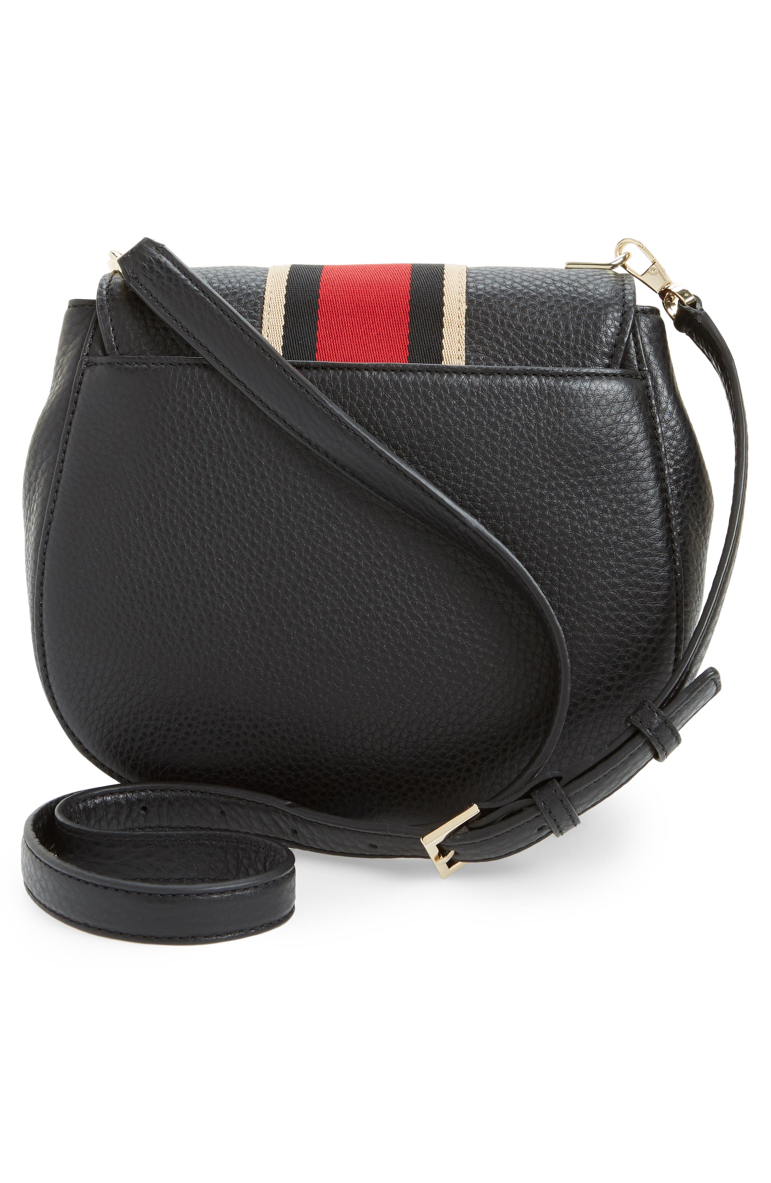 madison stewart street - byrdie studded leather satchel,                             Alternate thumbnail 3, color,                             631
