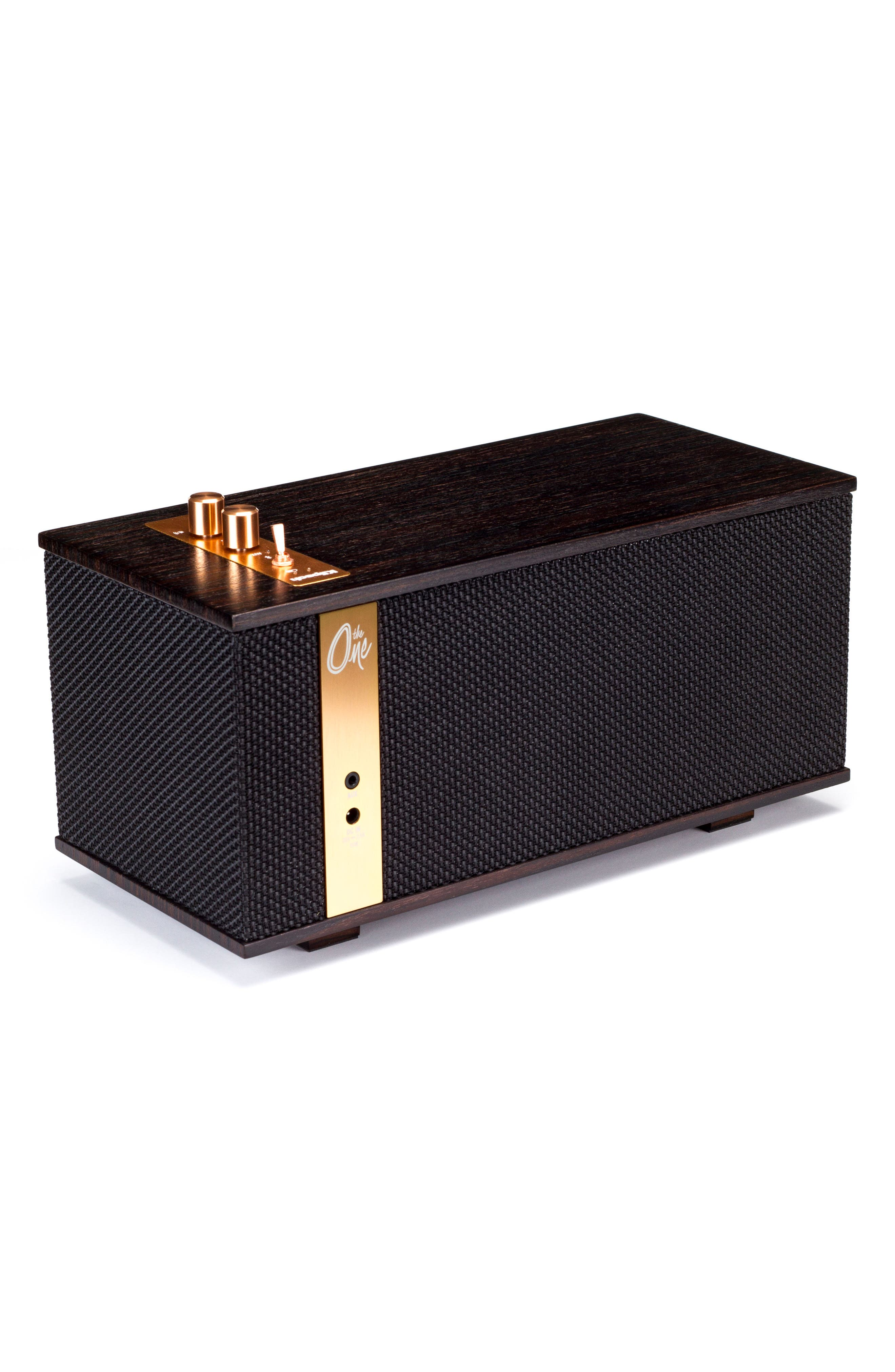 Klipsch The One Bluetooth<sup>®</sup> Speaker,                             Alternate thumbnail 3, color,                             EBONY