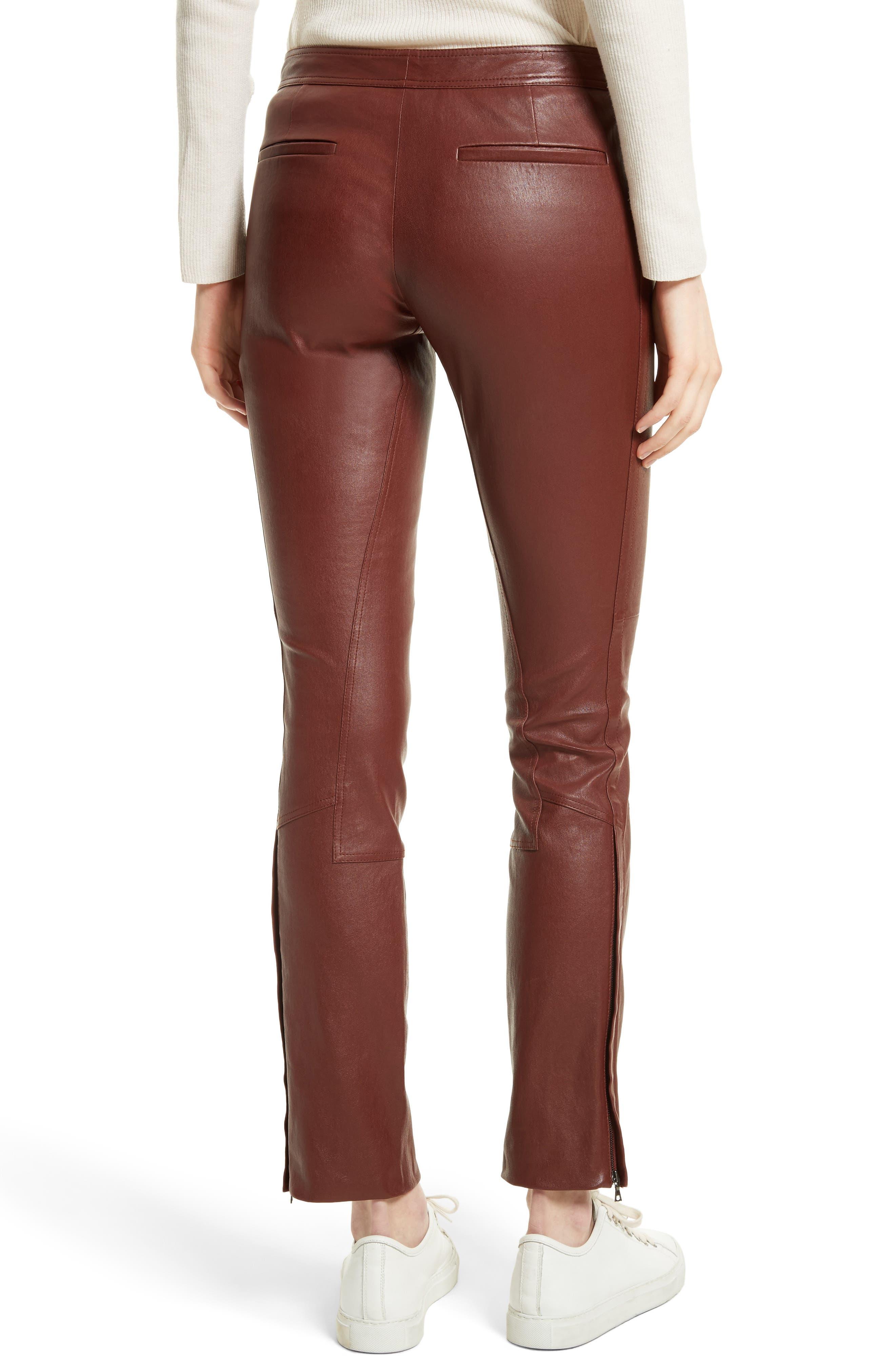 Bristol Leather Riding Pants,                             Alternate thumbnail 2, color,                             215