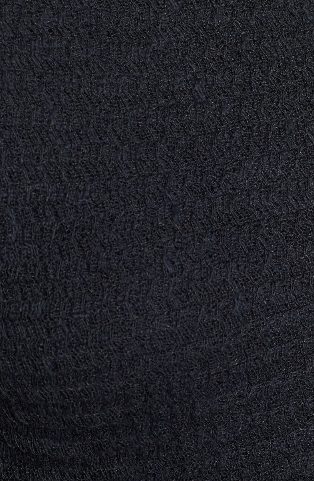 Crossover Sweater,                             Alternate thumbnail 3, color,                             001