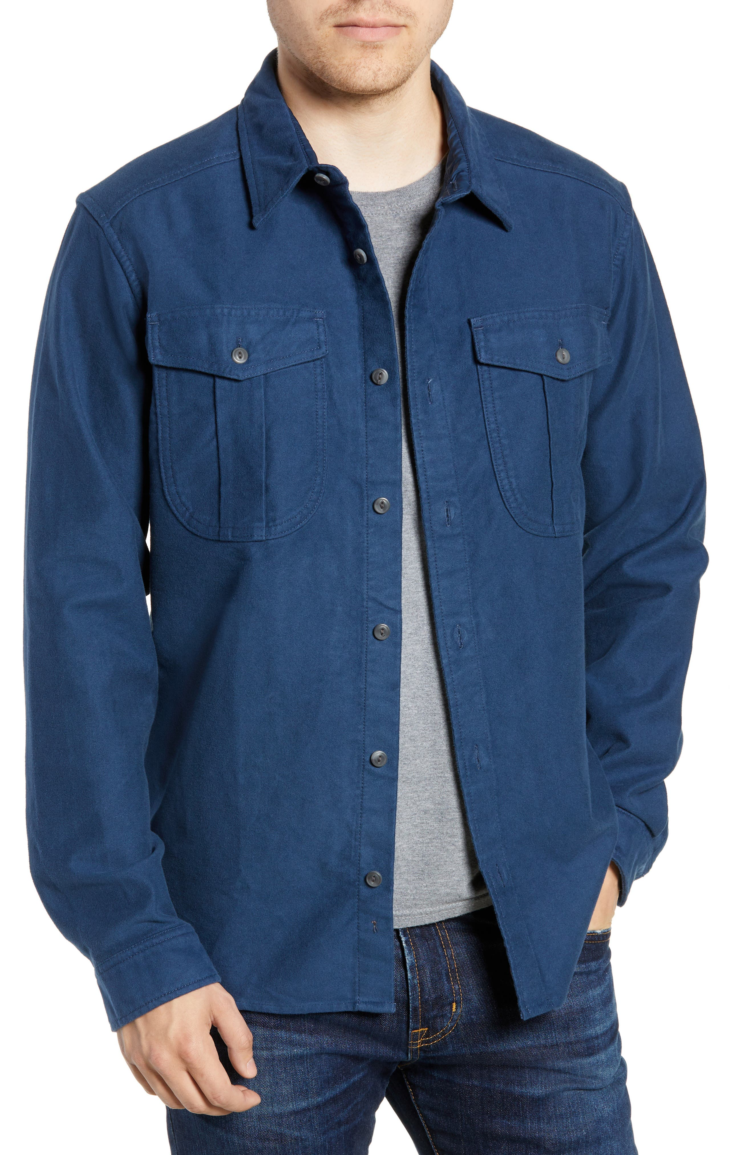 PATAGONIA Topo Canyon Moleskin Shirt in Stone Blue