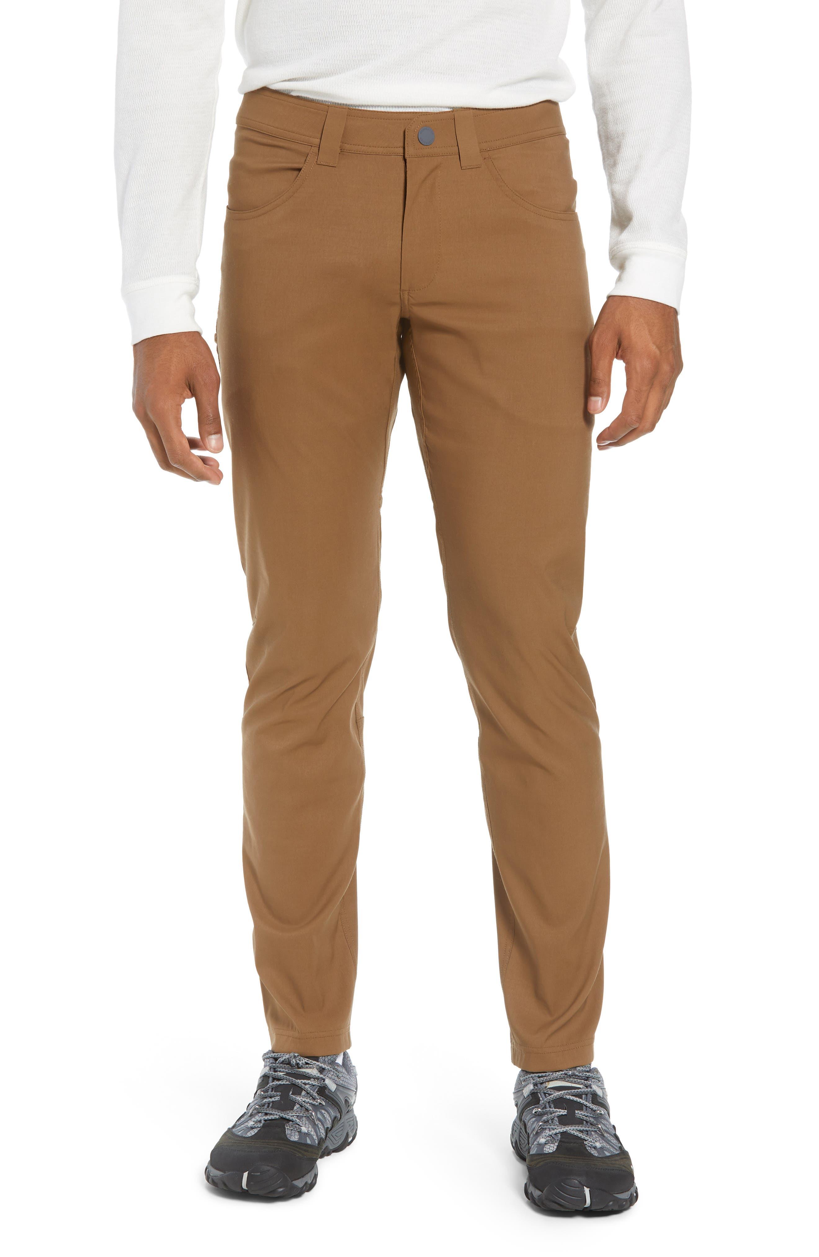 Icebreaker Persist Straight Pants, Brown