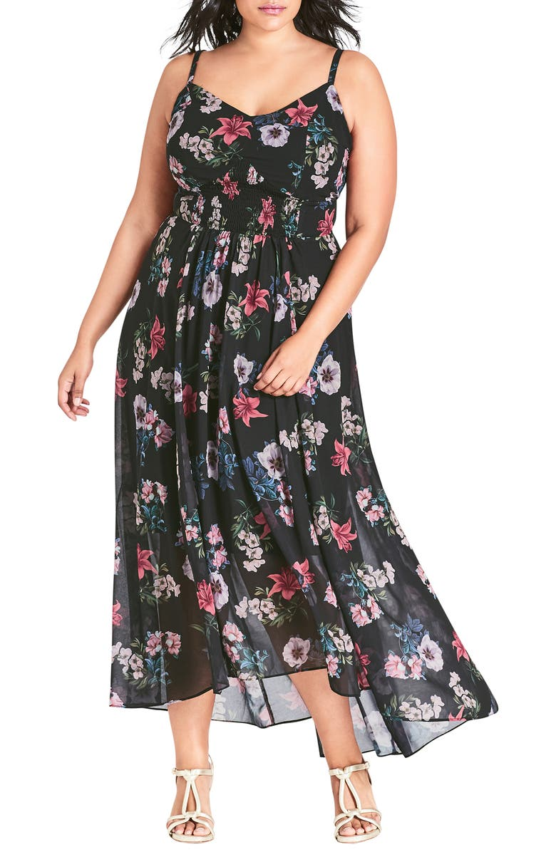 City Chic LILY LOVE MAXI DRESS