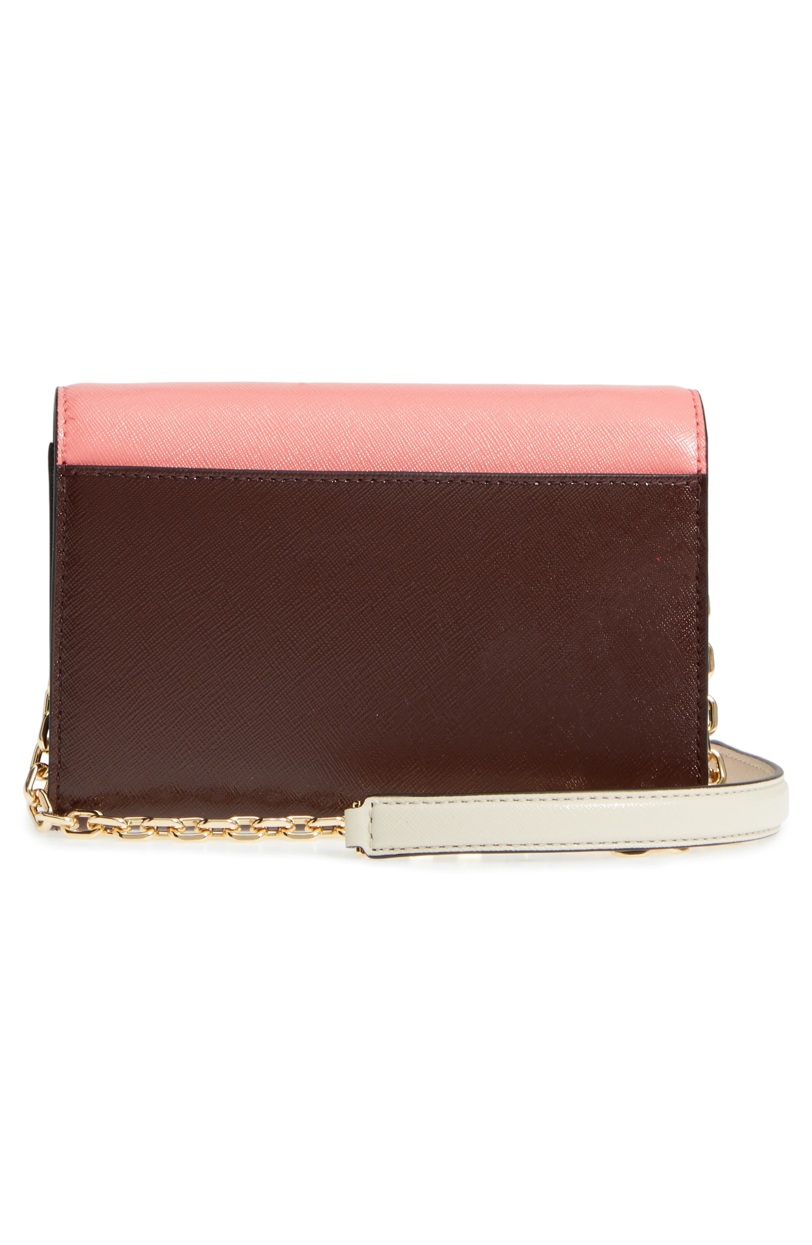 Snapshot Leather Wallet on a Chain,                             Alternate thumbnail 34, color,