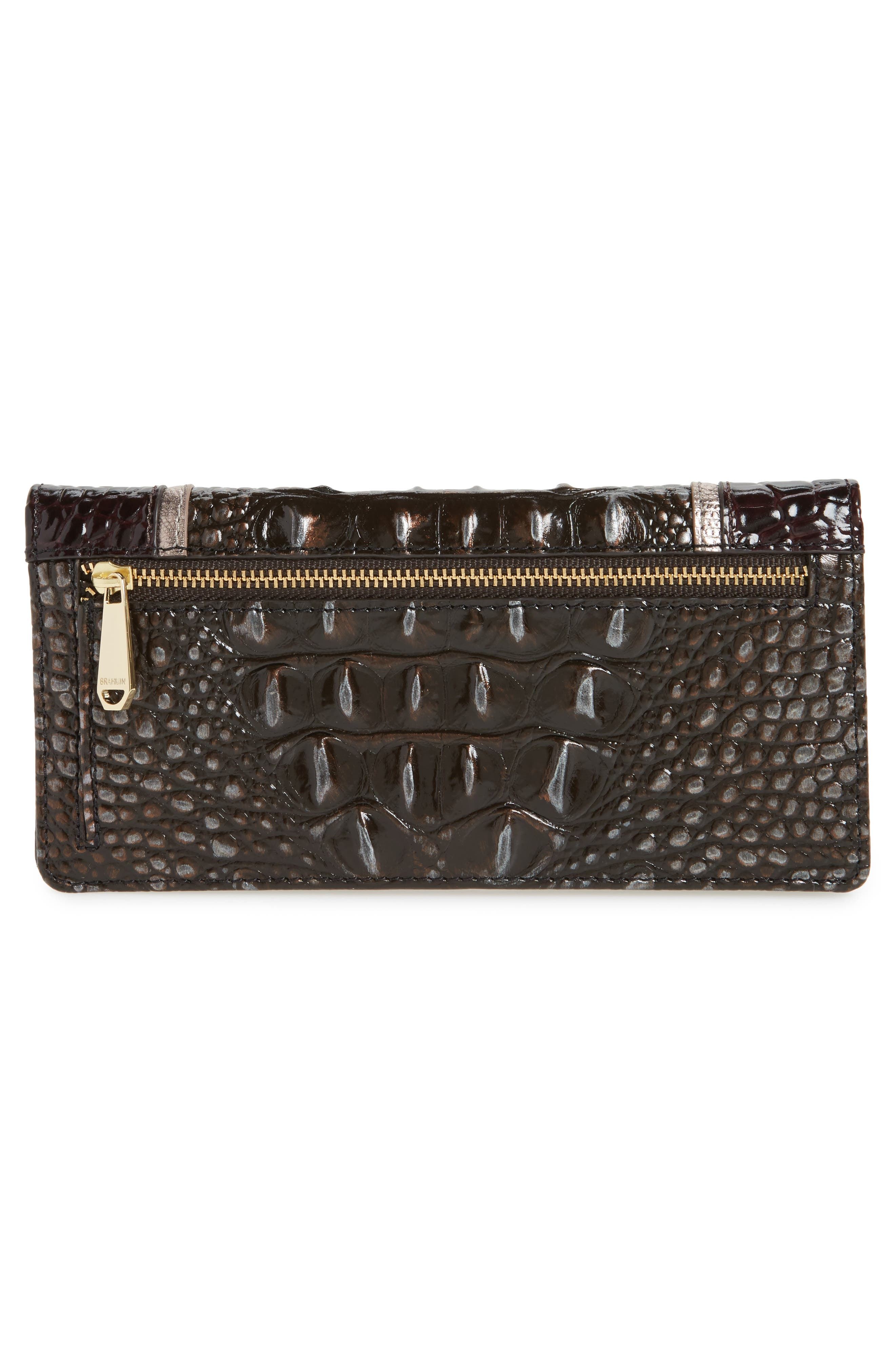 Ady Leather Continental Wallet,                             Alternate thumbnail 3, color,                             007