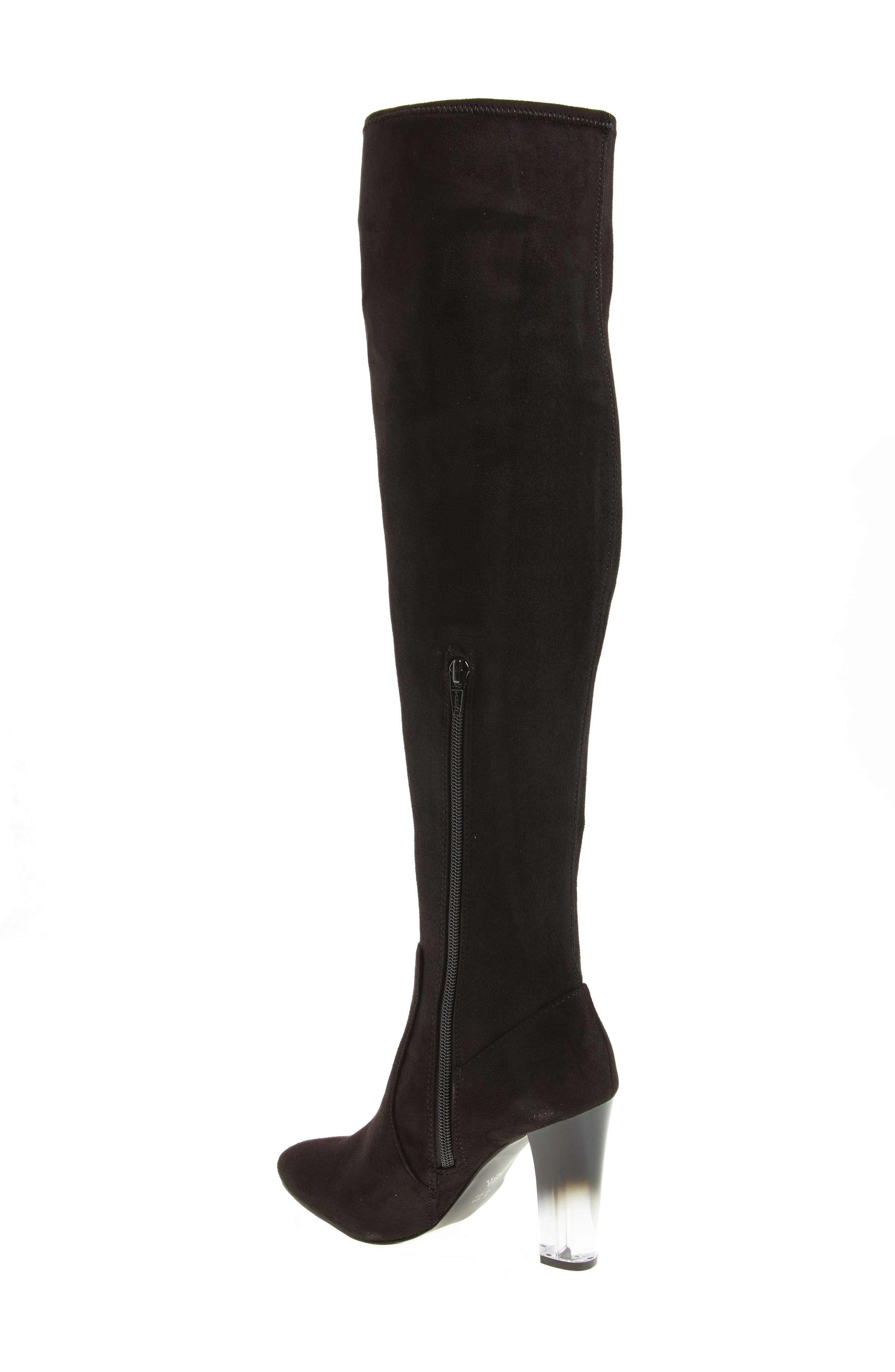 Icelyn Over the Knee Stretch Boot,                             Alternate thumbnail 2, color,                             006