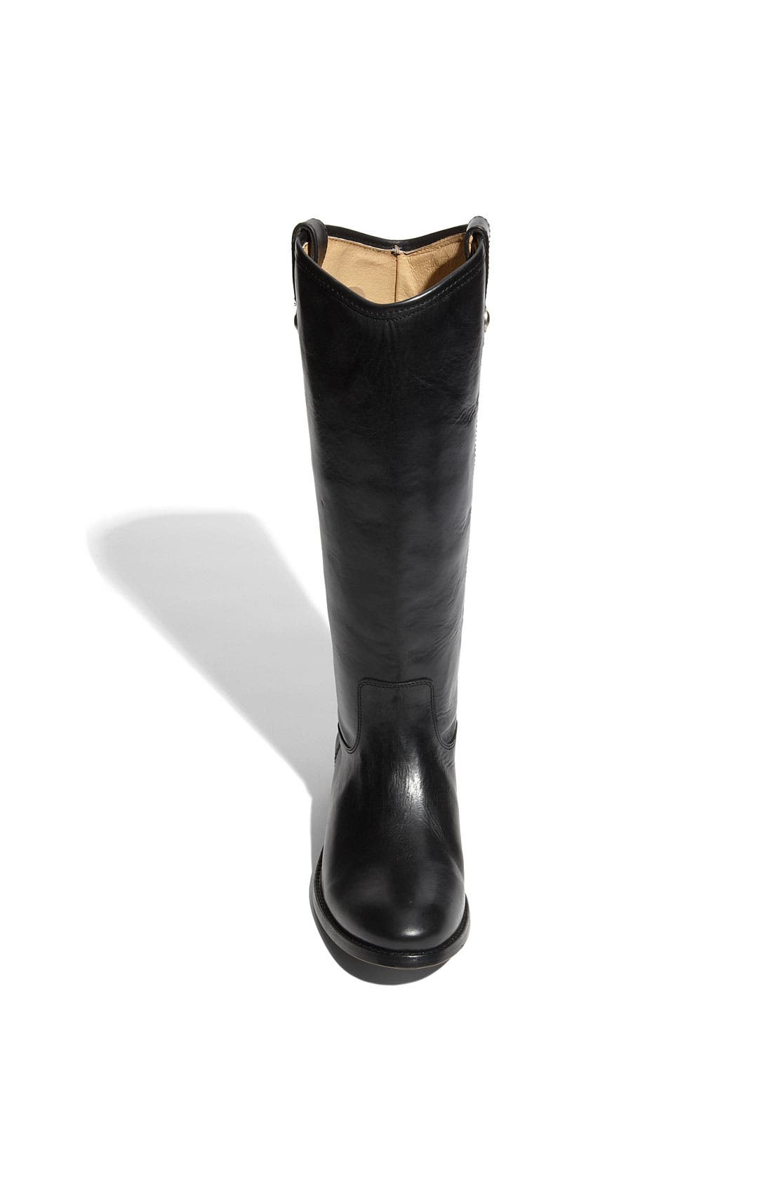 'Melissa Button' Leather Riding Boot,                             Alternate thumbnail 129, color,