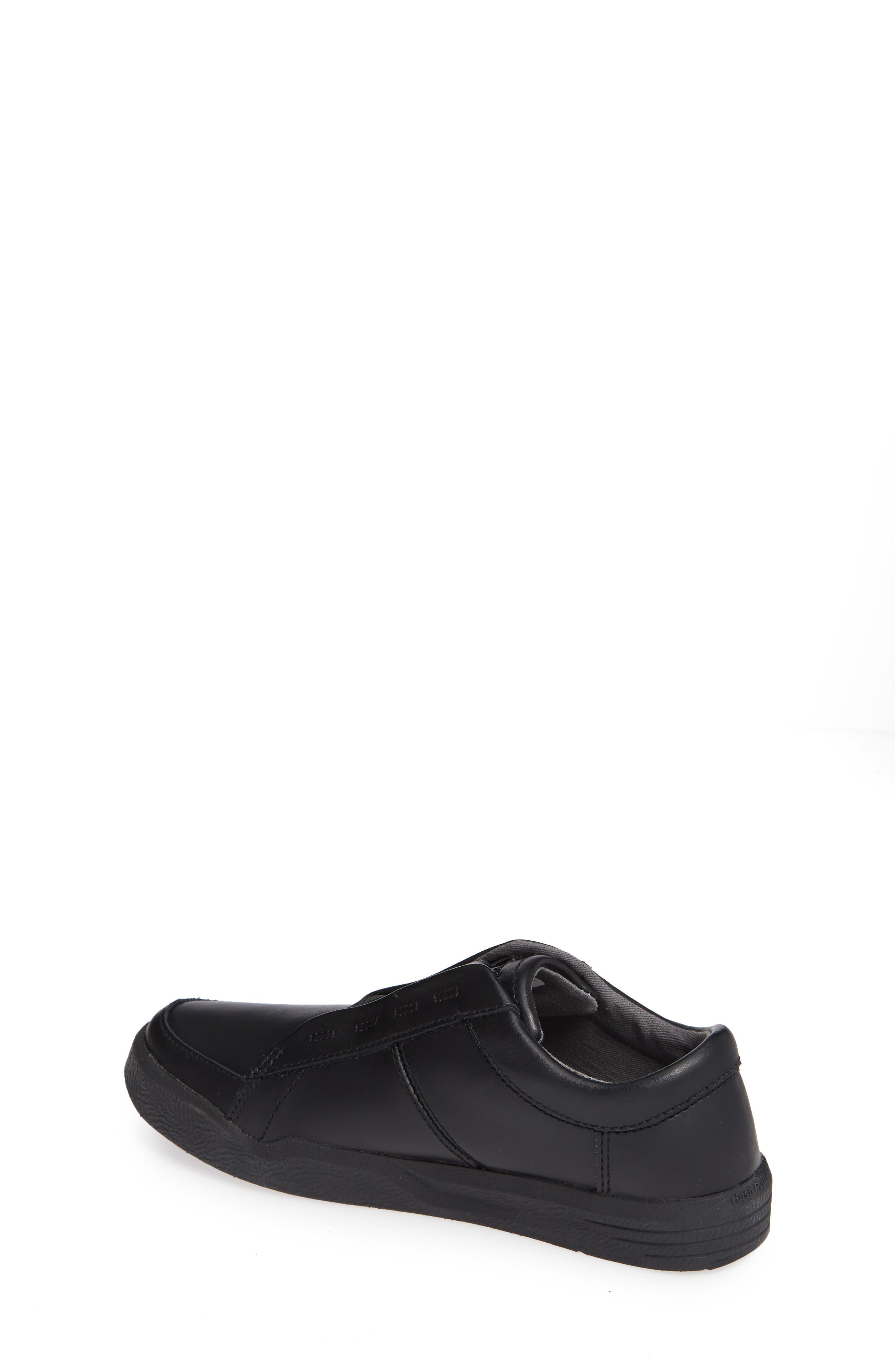 Layden Genius Leather Sneaker,                             Alternate thumbnail 2, color,                             BLACK/ BLACK