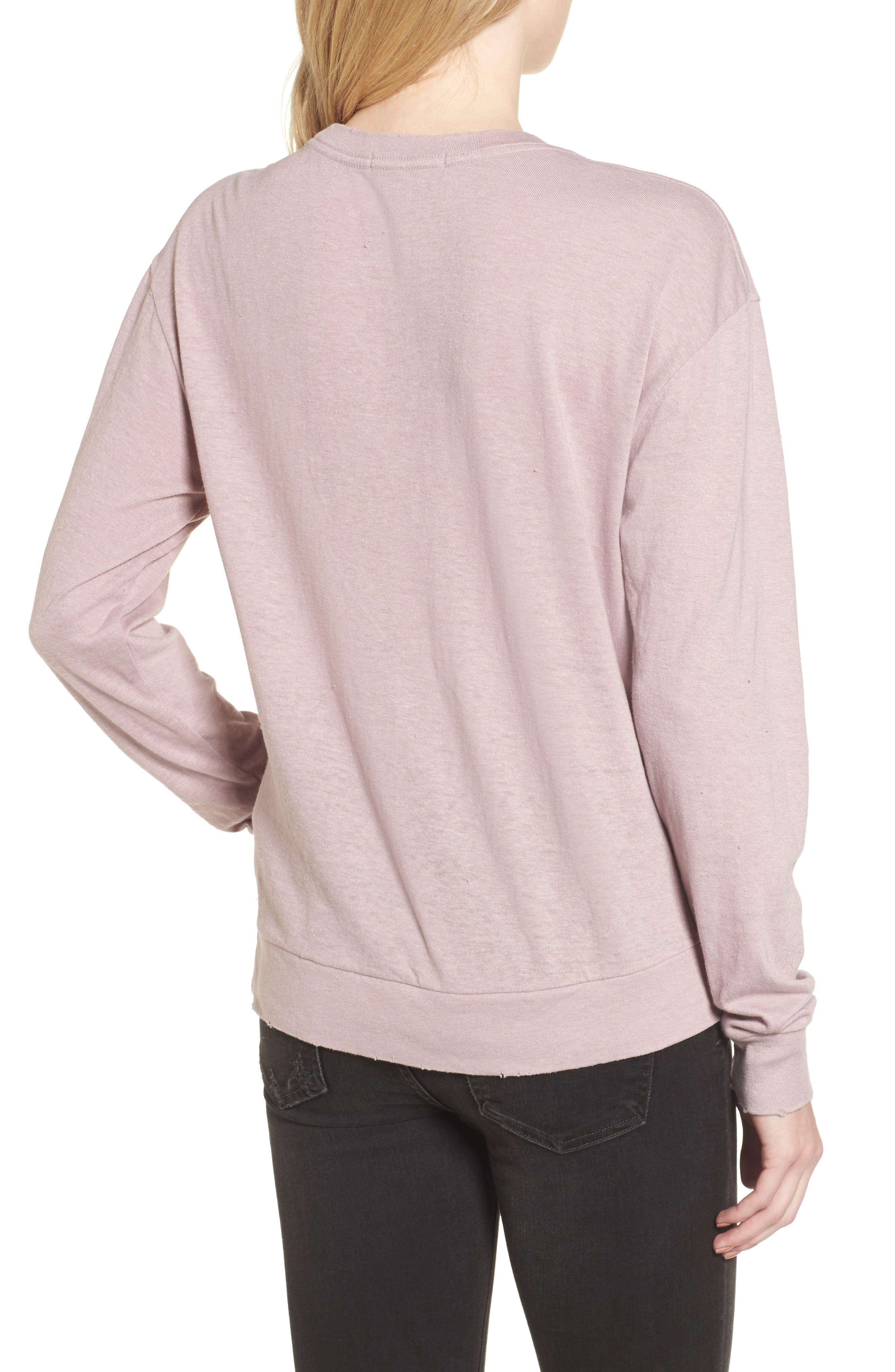 x Donald Robertson Black Dresses Sweatshirt,                             Alternate thumbnail 2, color,                             670