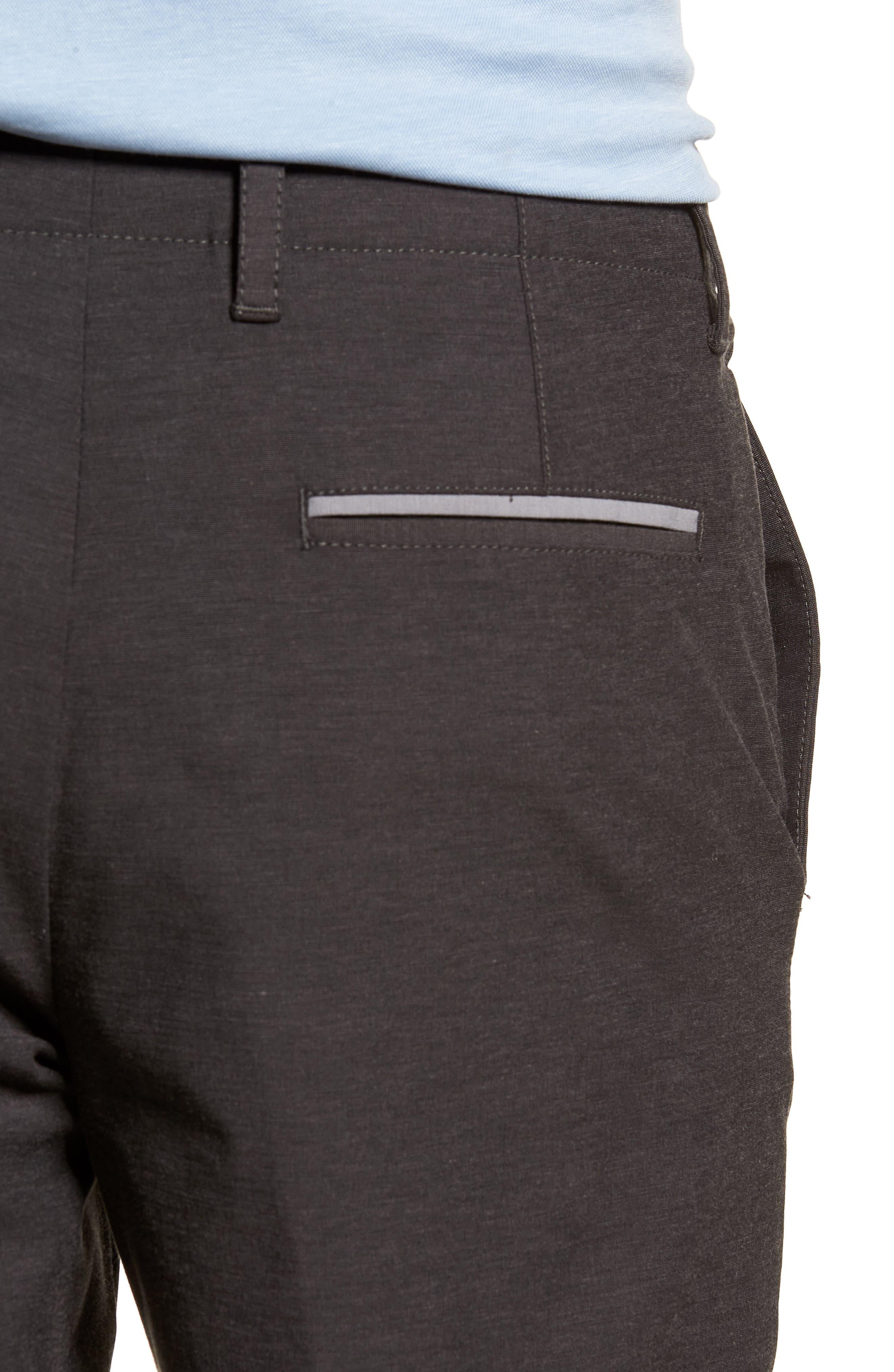 Chip & Run Shorts,                             Alternate thumbnail 4, color,                             BLACK