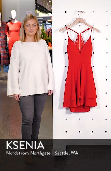 V-Neck Skater Dress, sales video thumbnail
