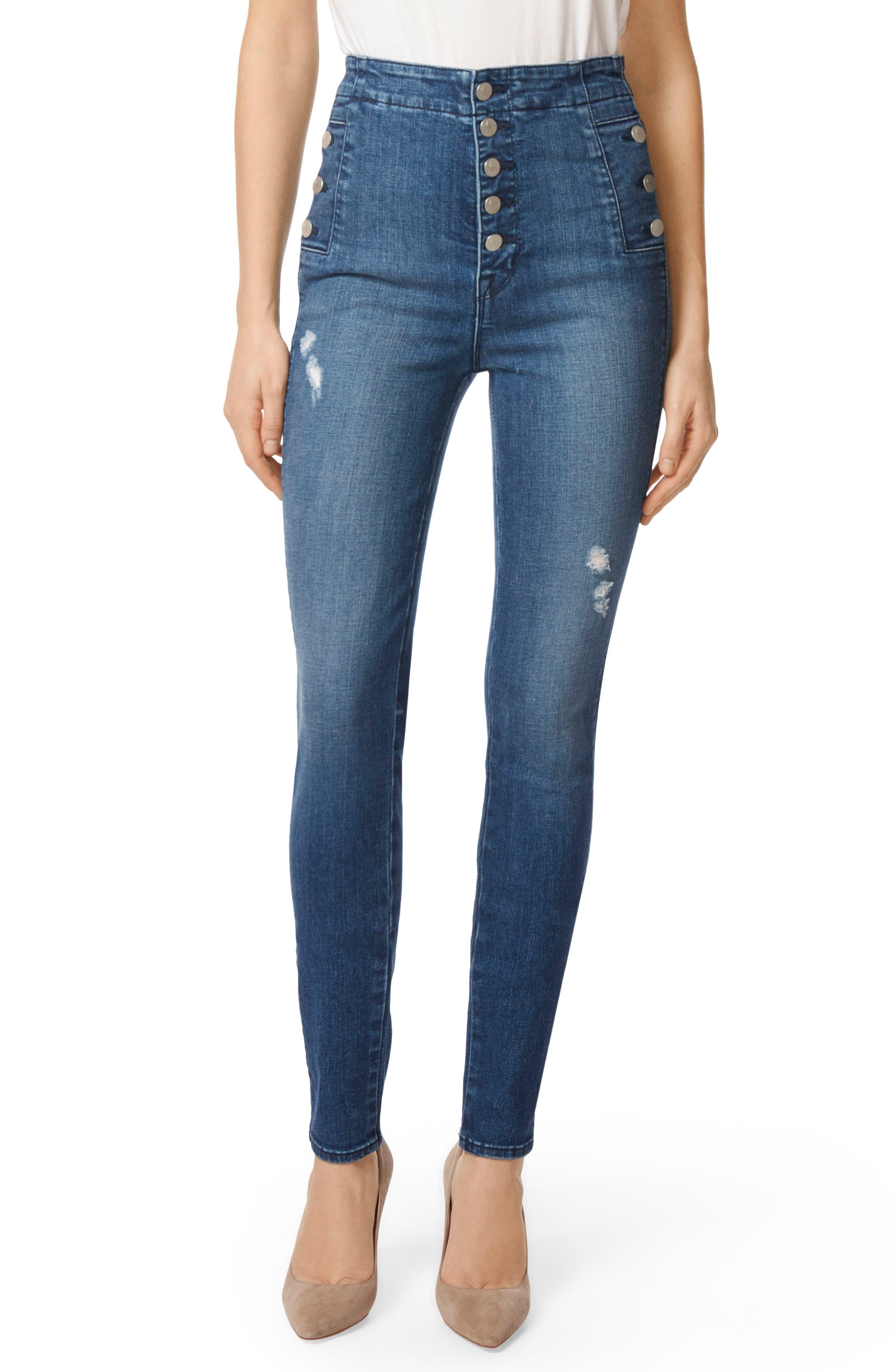 Natasha Sky High High Waist Skinny Jeans,                             Main thumbnail 1, color,                             234