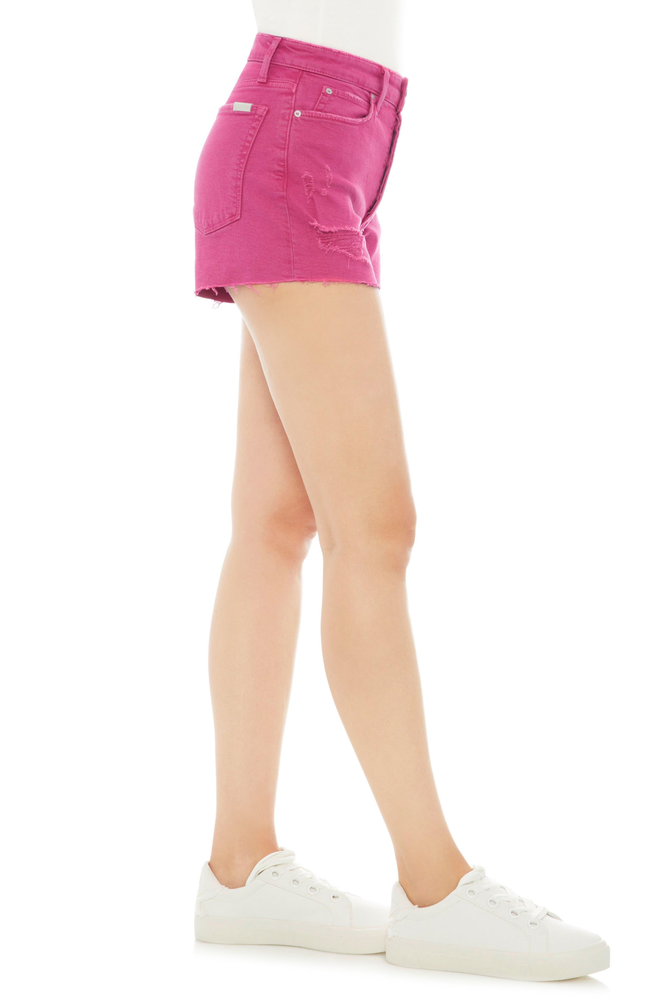 Smith High Waist Shorts,                             Alternate thumbnail 3, color,                             670