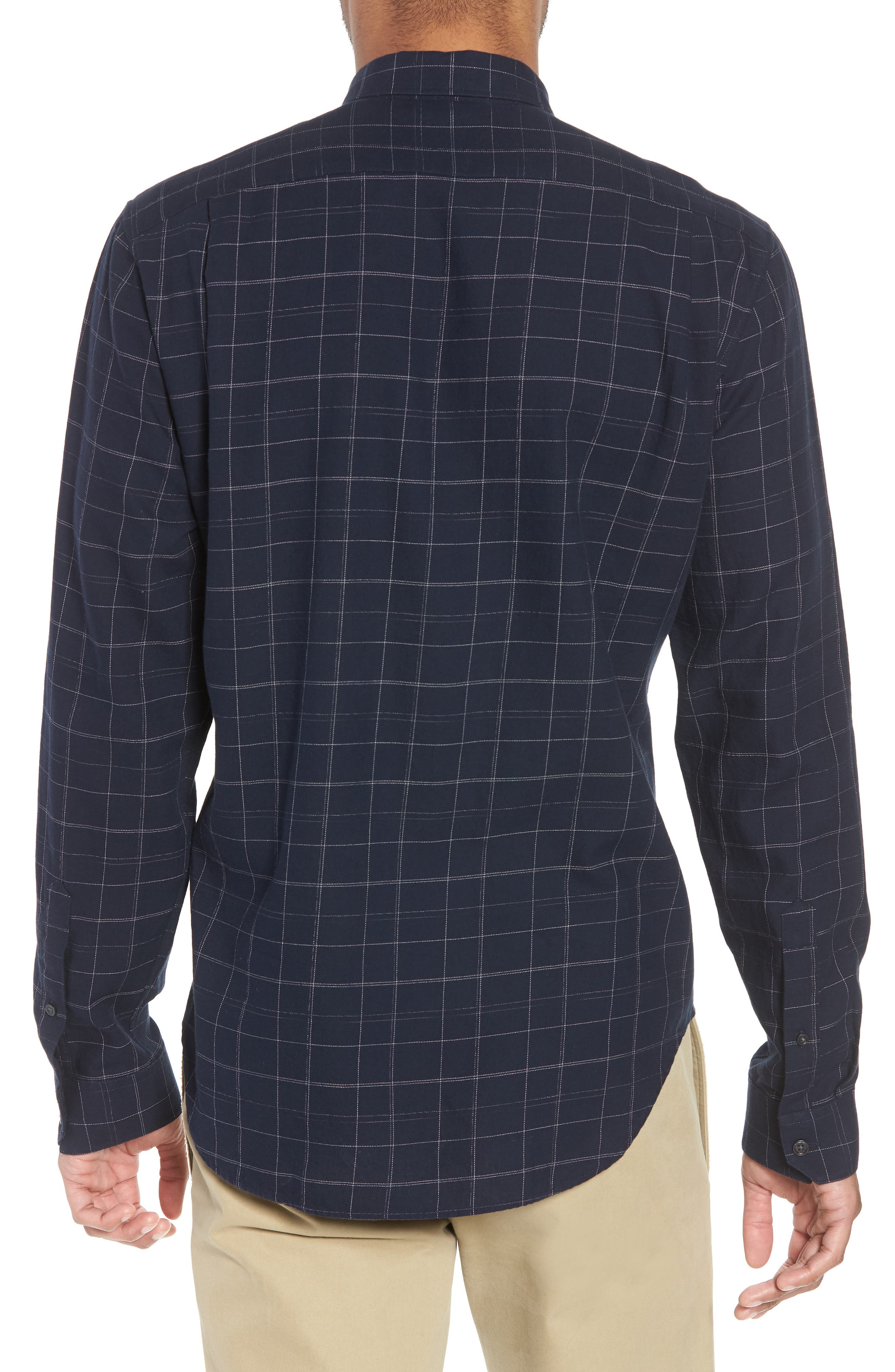 Classic Fit Plaid Sport Shirt,                             Alternate thumbnail 2, color,                             463