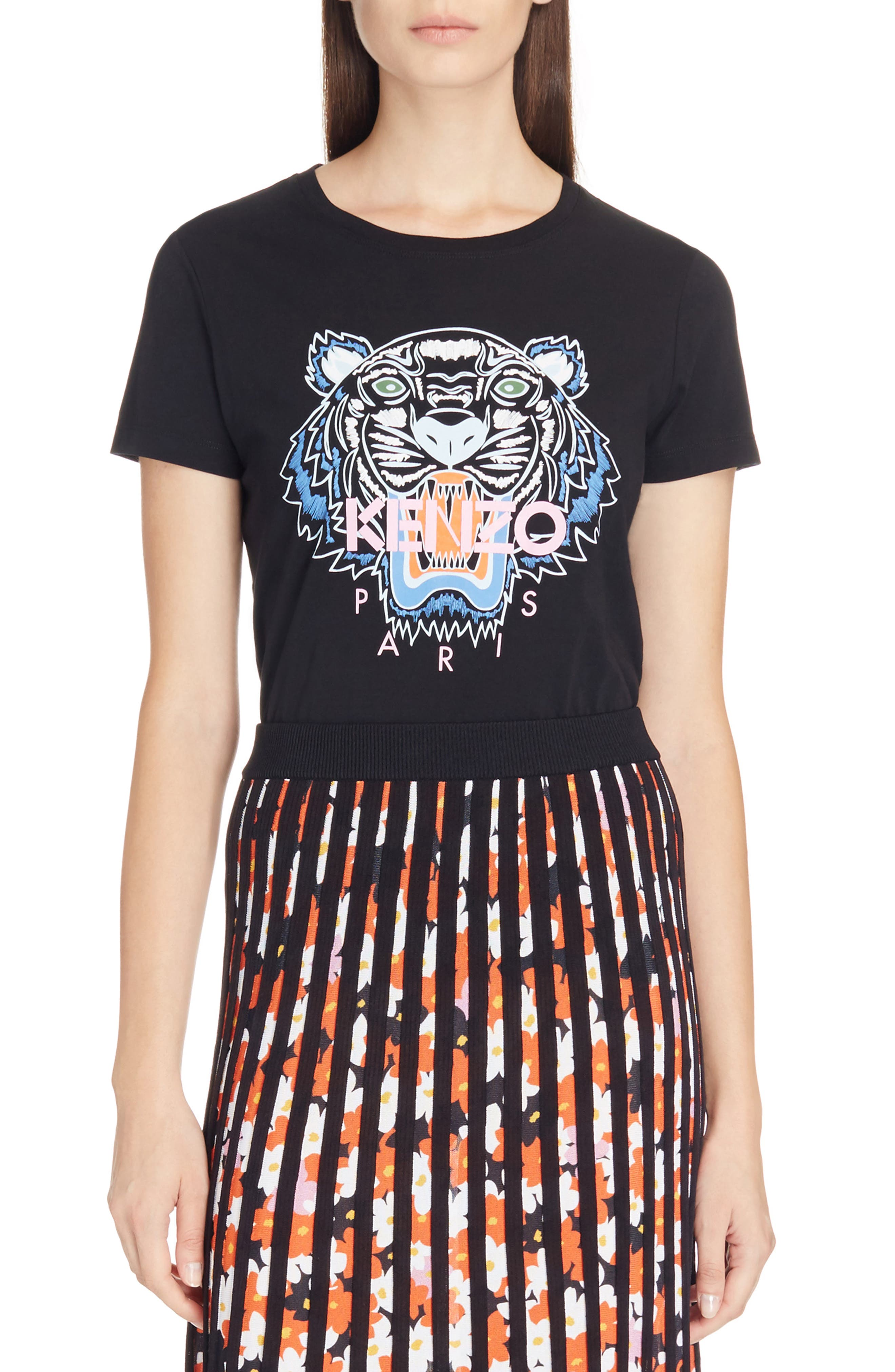 Classic Tiger Graphic Tee,                             Main thumbnail 1, color,                             001