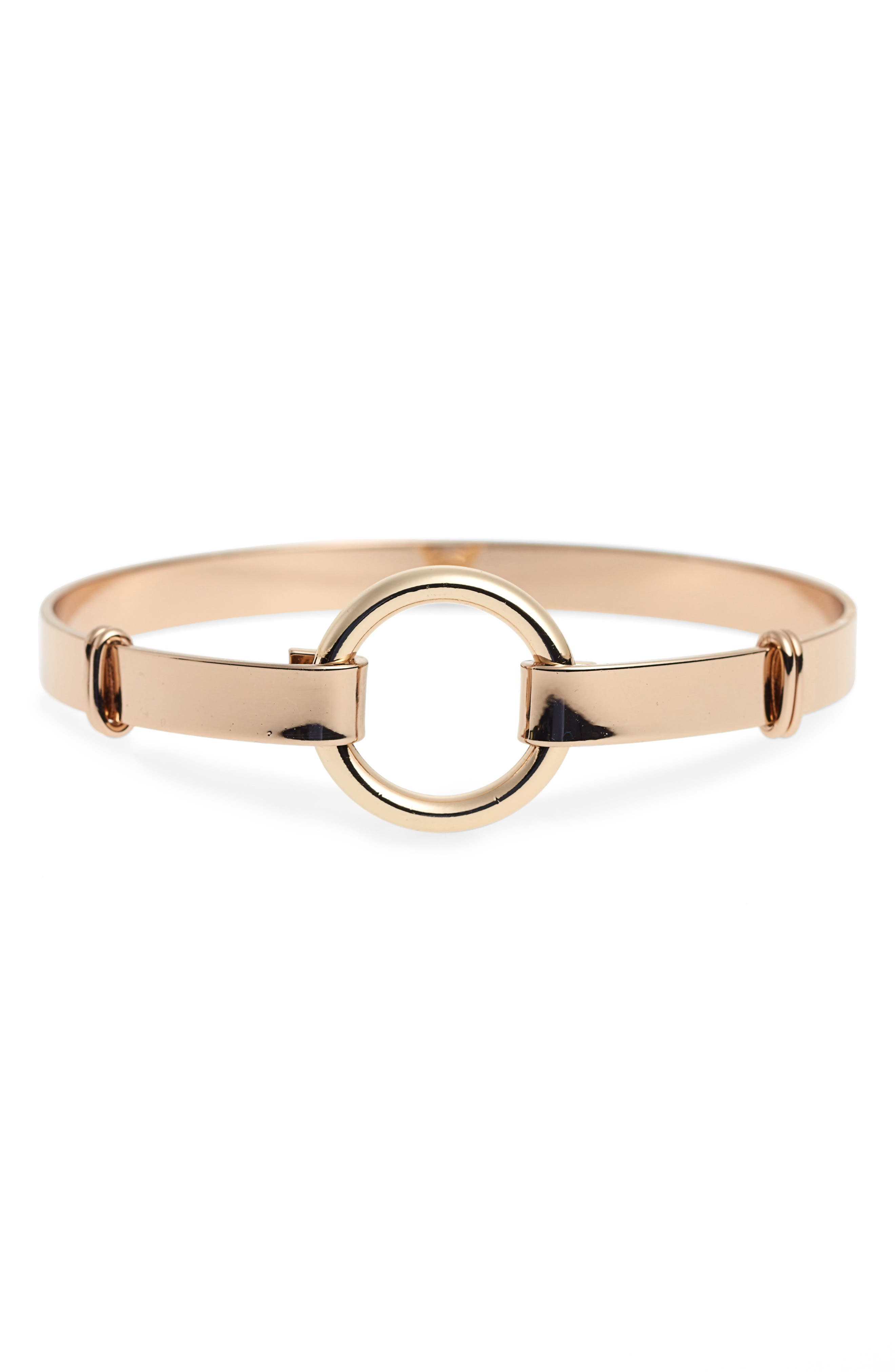 Open Circle Bangle,                             Main thumbnail 1, color,