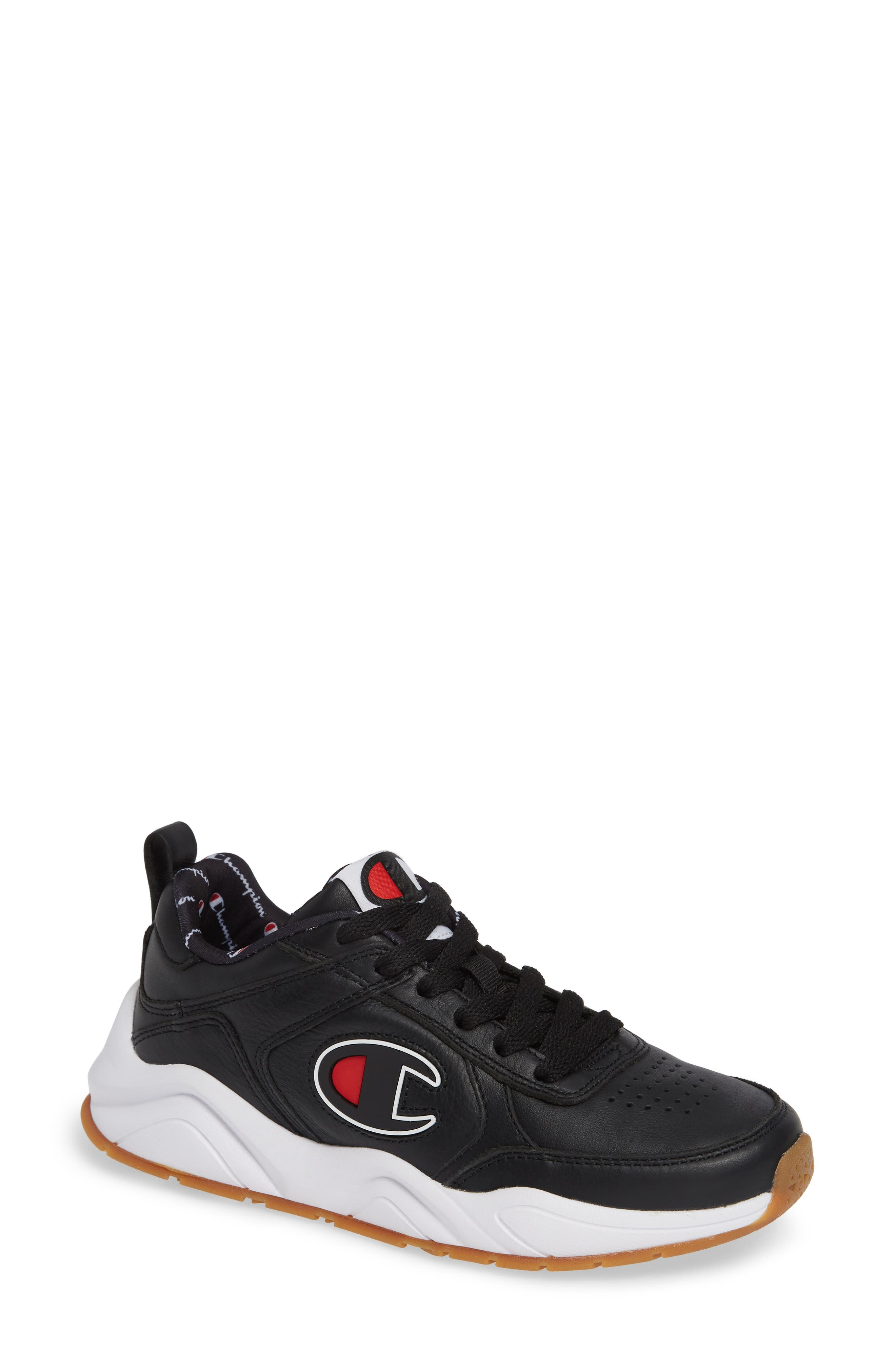 93 Eighteen Sneaker,                             Main thumbnail 1, color,                             BLACK