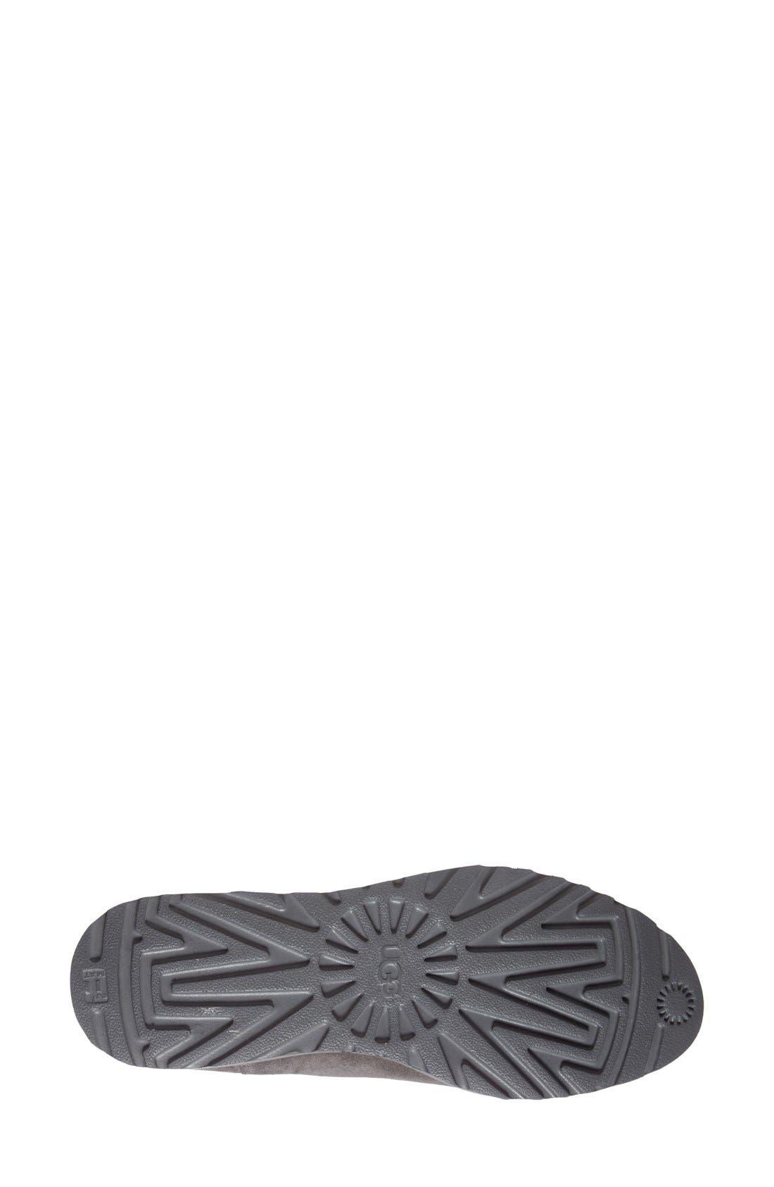 Kristin - Classic Slim<sup>™</sup> Water Resistant Mini Boot,                             Alternate thumbnail 4, color,                             GREY SUEDE