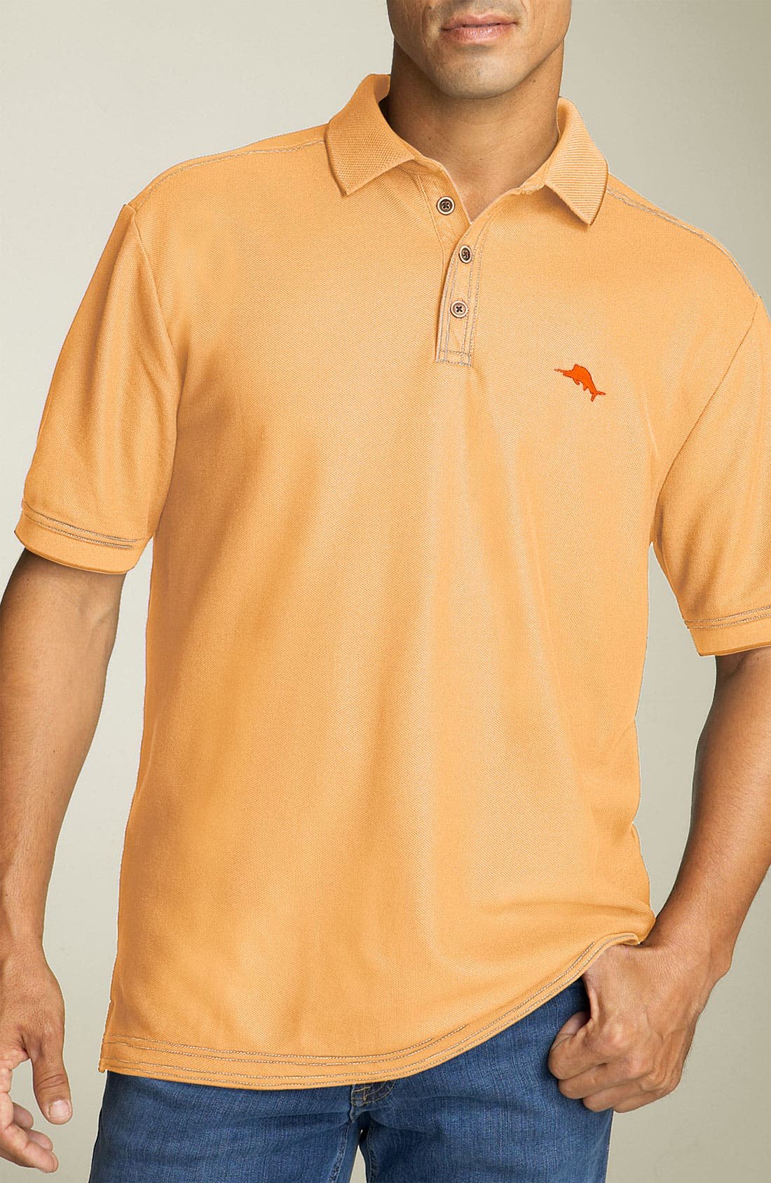 'The Emfielder' Original Fit Piqué Polo,                             Main thumbnail 112, color,