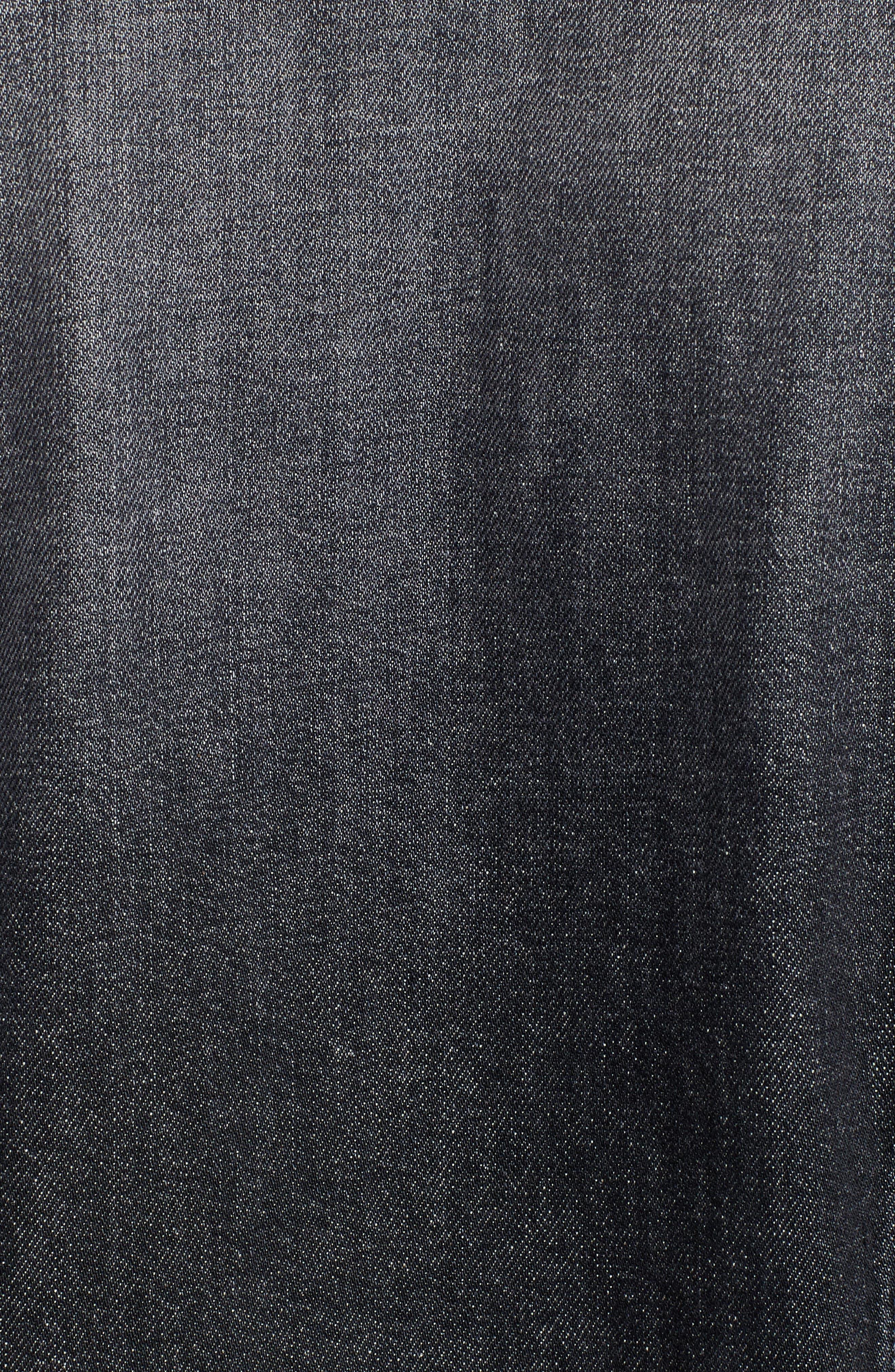 Denim Jacket,                             Alternate thumbnail 6, color,                             004