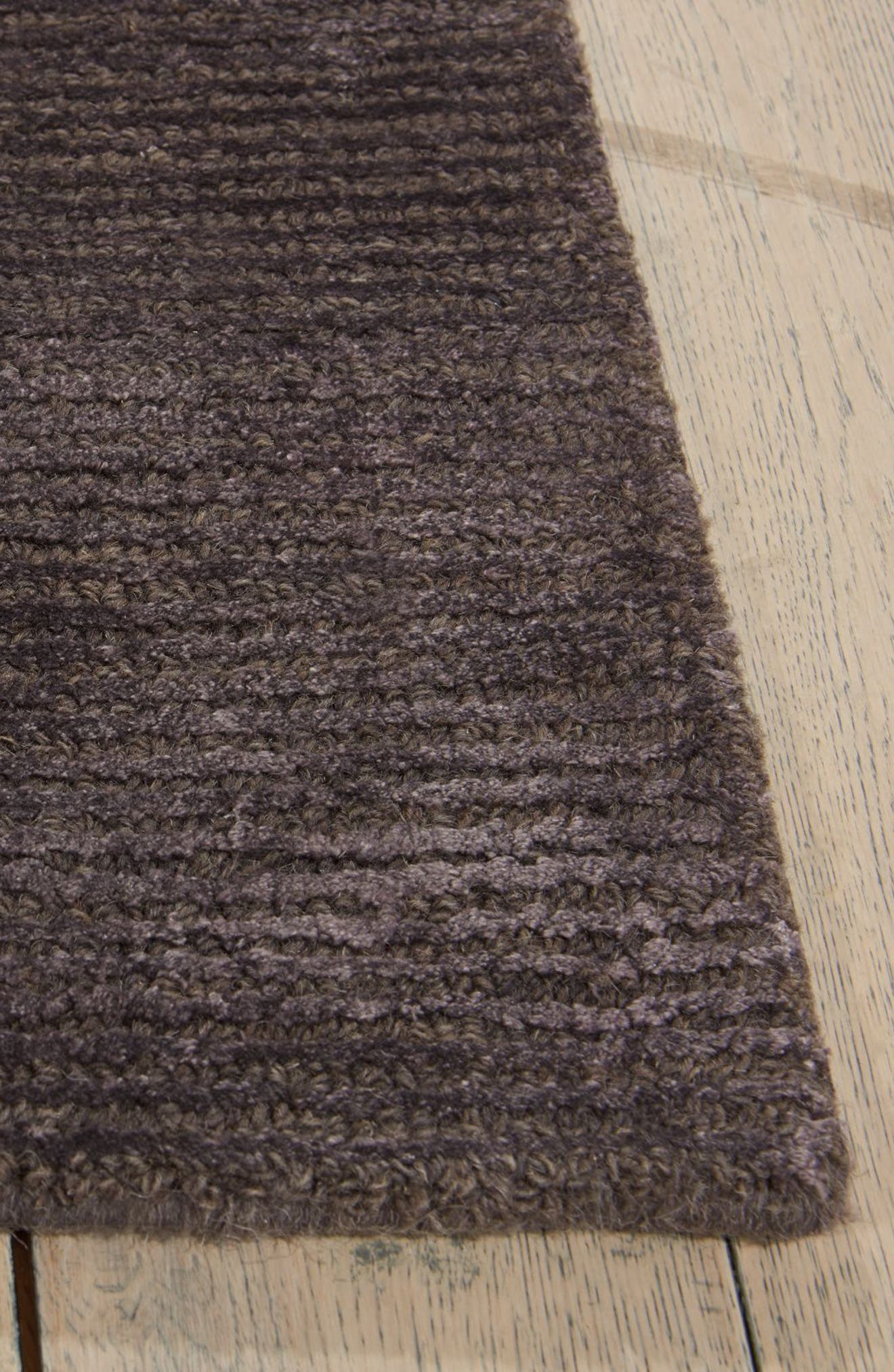 Ravine Furrow Handwoven Area Rug,                             Alternate thumbnail 2, color,                             001