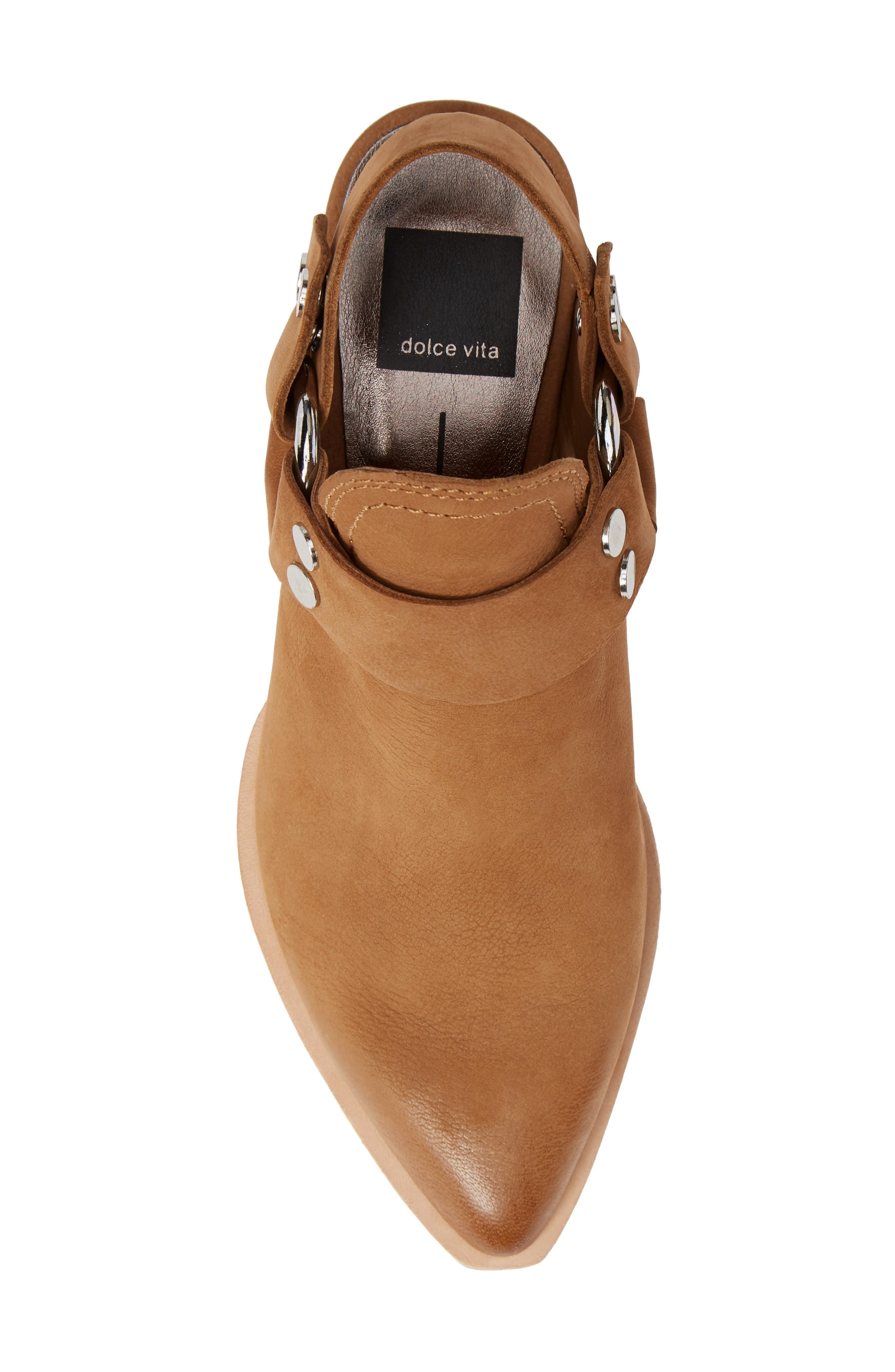 Urban Bootie,                             Alternate thumbnail 5, color,                             TAN NUBUCK LEATHER
