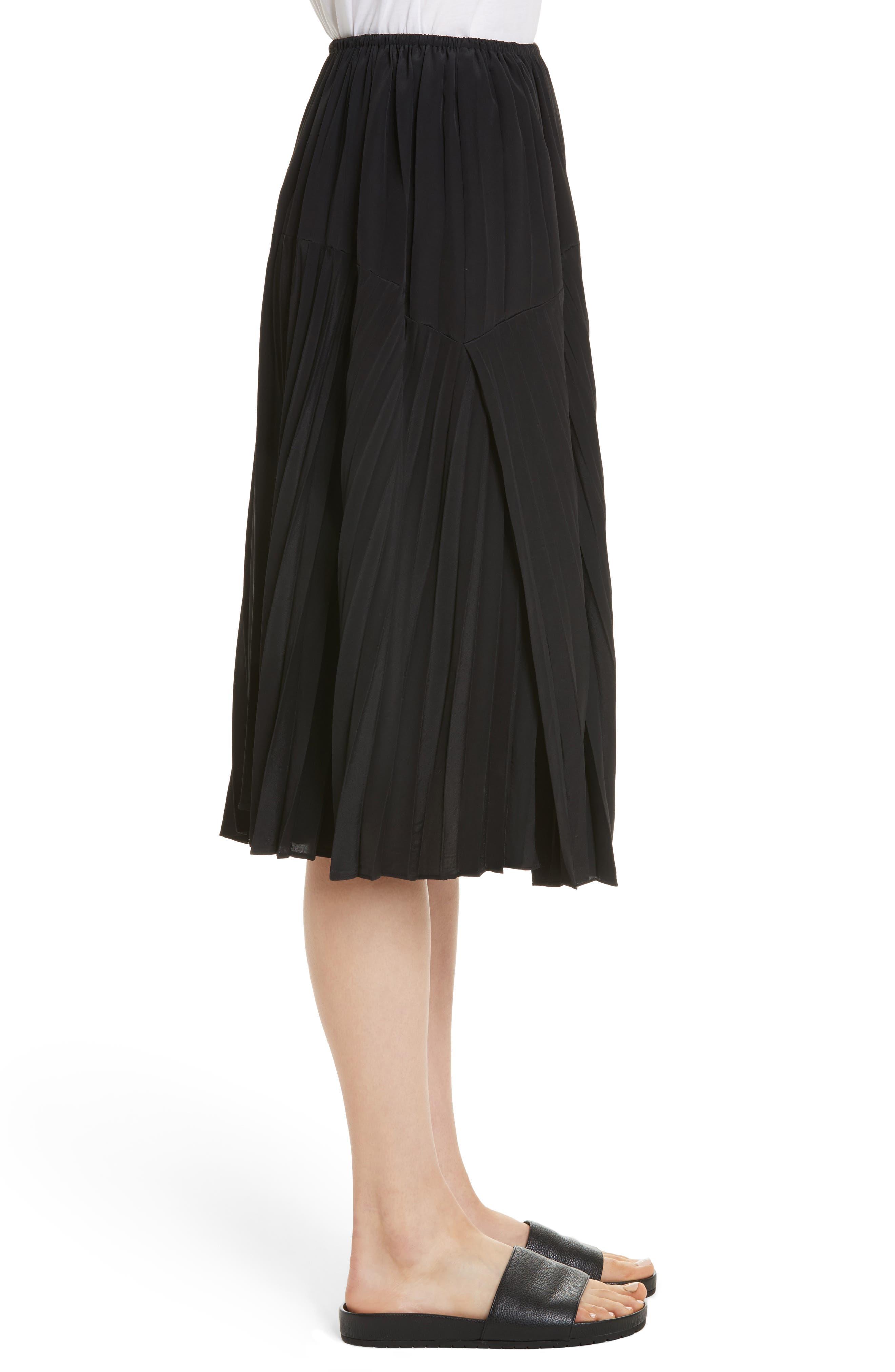 Pleated Skirt,                             Alternate thumbnail 5, color,