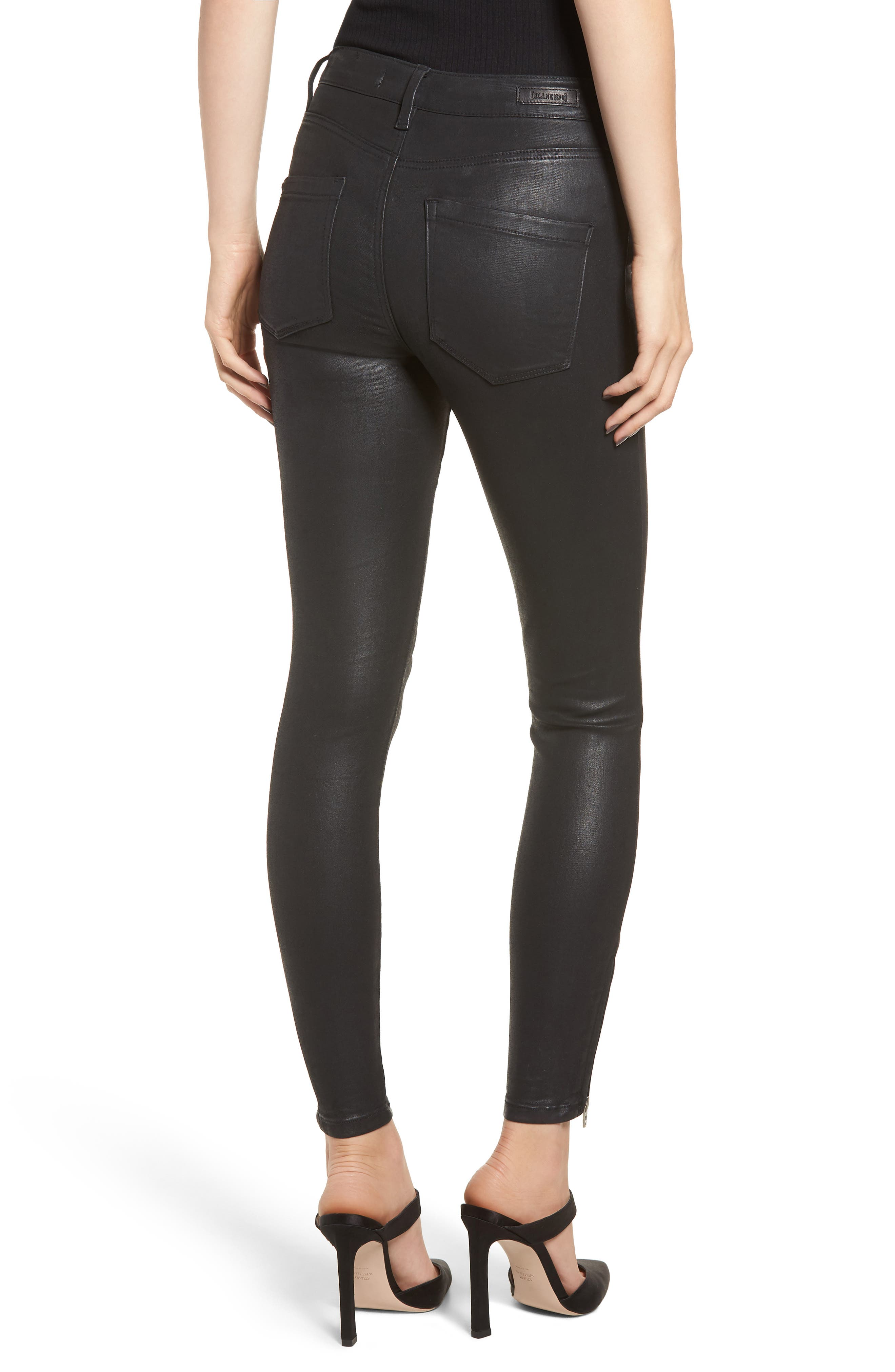The Bond Coated Skinny Jeans,                             Alternate thumbnail 2, color,                             SPARTACUS