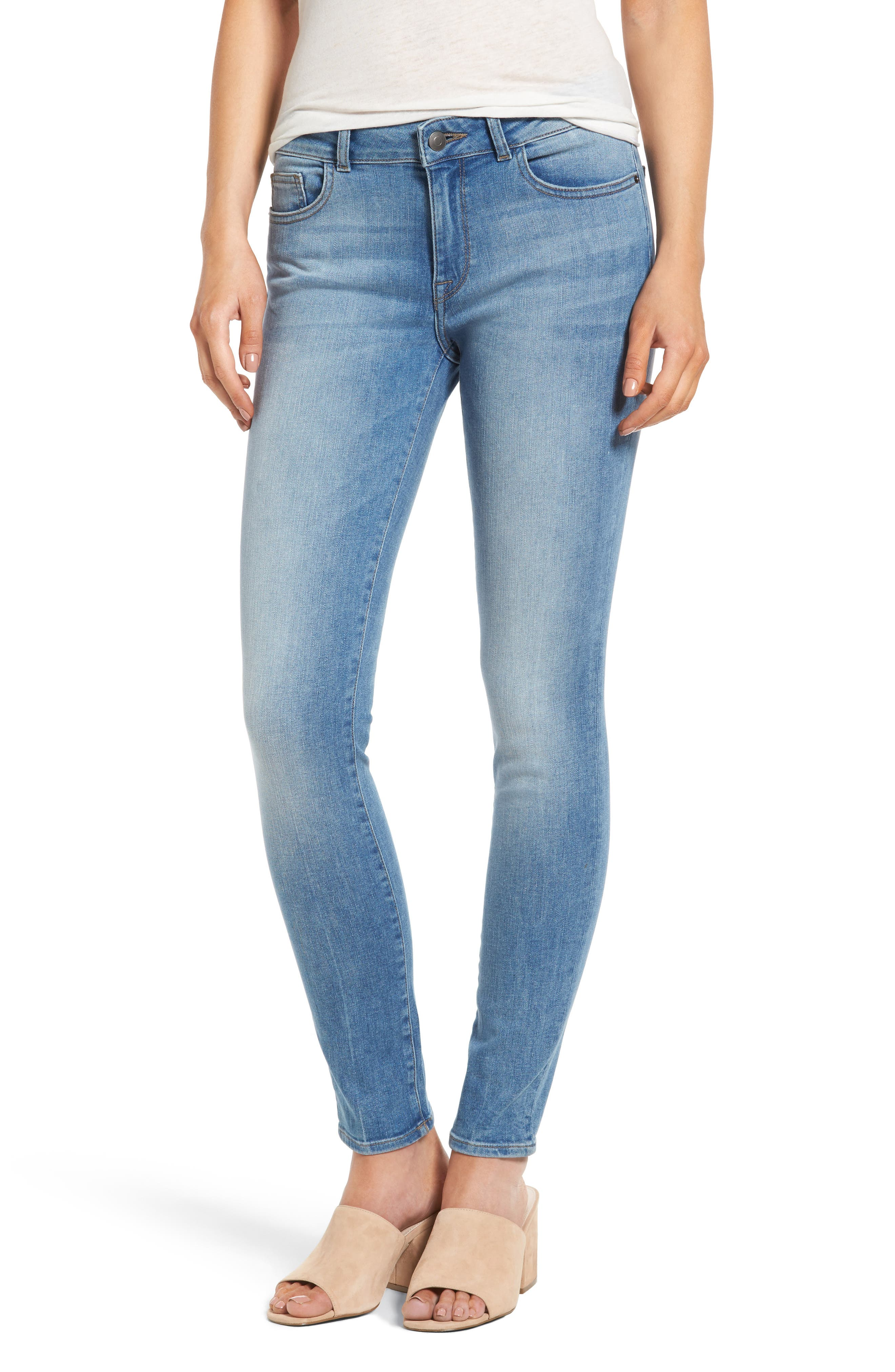Florence Instasculpt Skinny Jeans,                             Main thumbnail 1, color,                             430