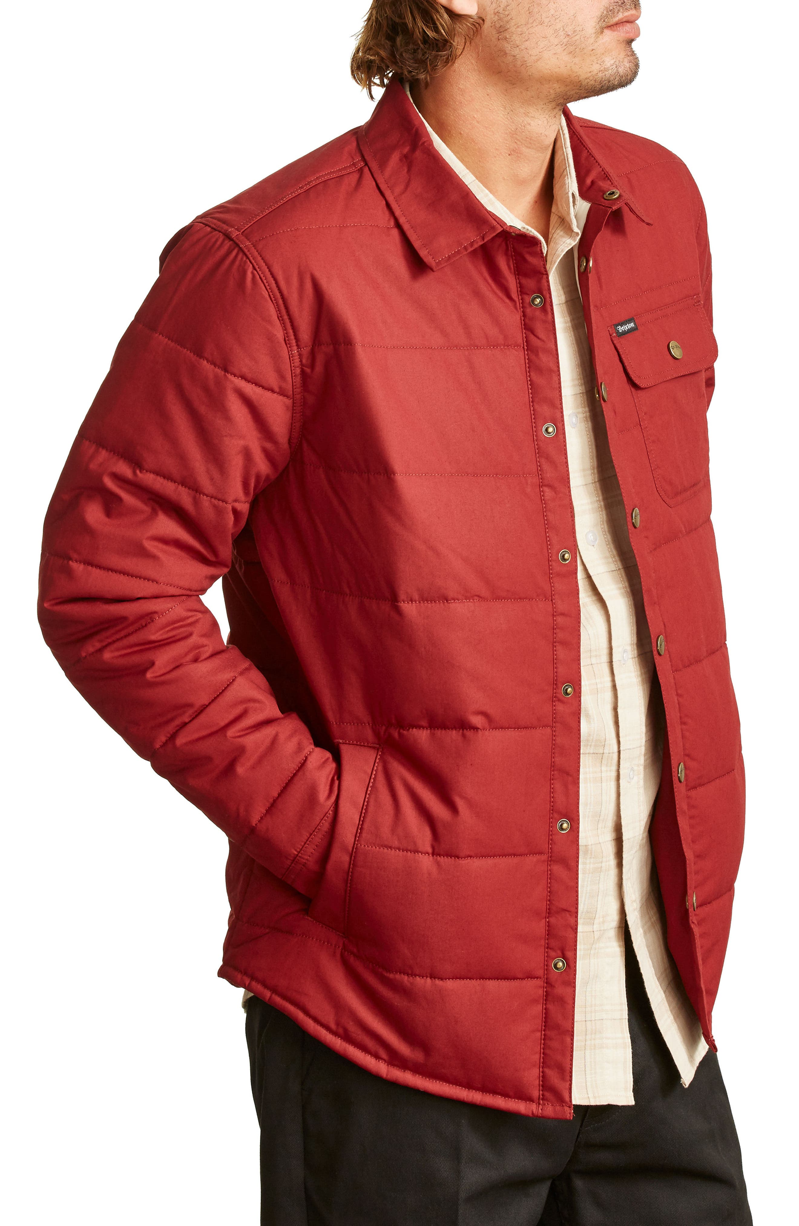 'Cass' Quilted Jacket,                             Alternate thumbnail 18, color,