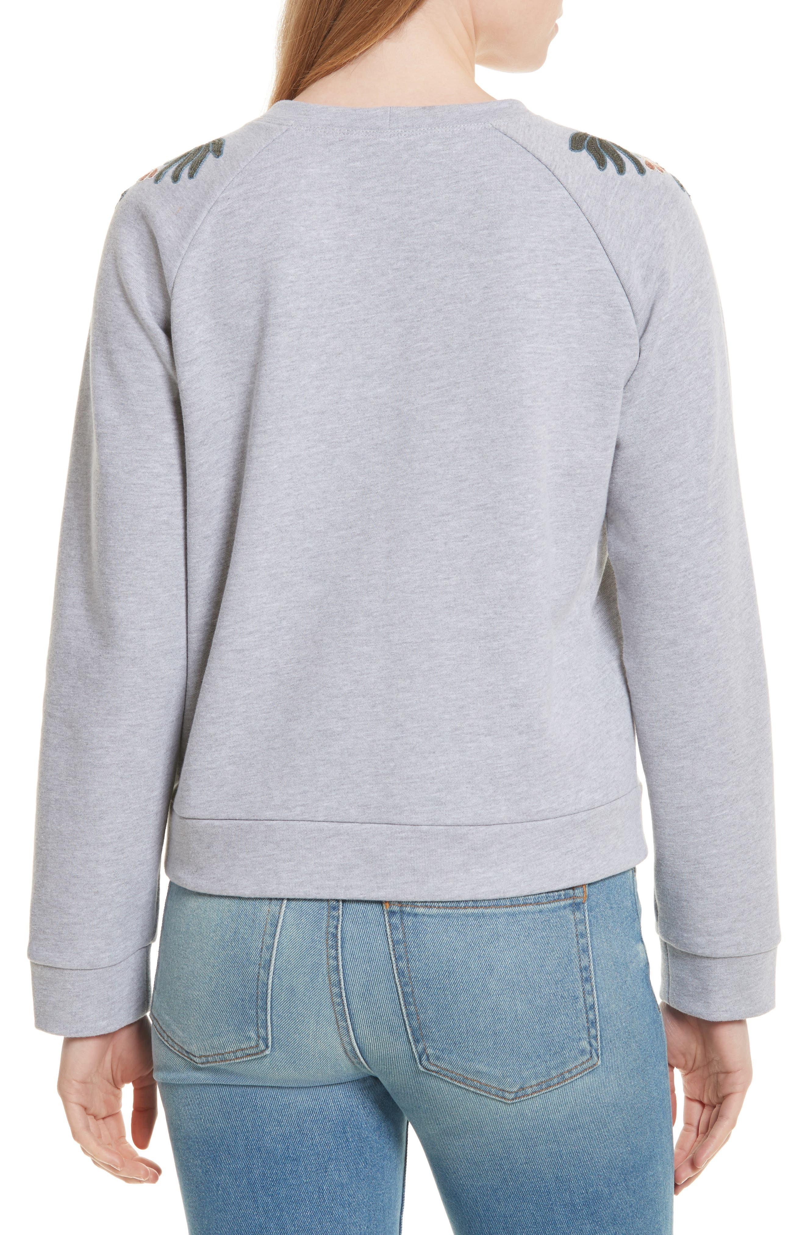 Jennings Embroidered Sweatshirt,                             Alternate thumbnail 2, color,                             021